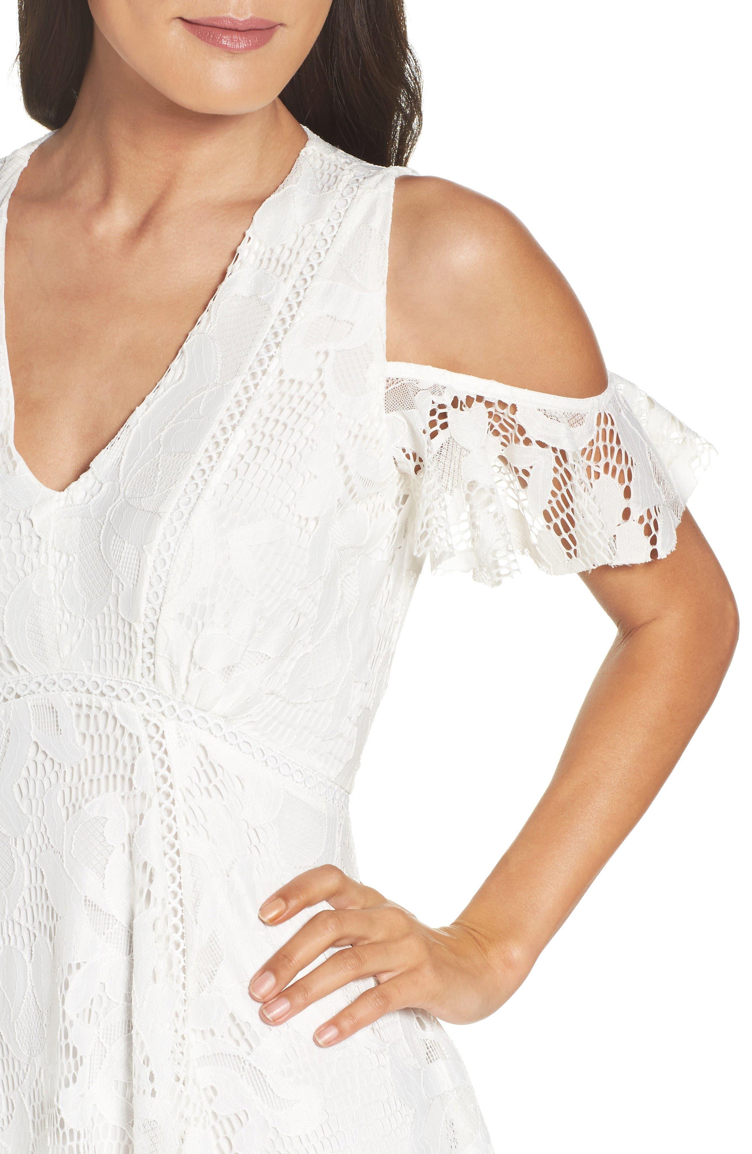Alternate Image 4  - Taylor Dresses Alternative Midi Dress