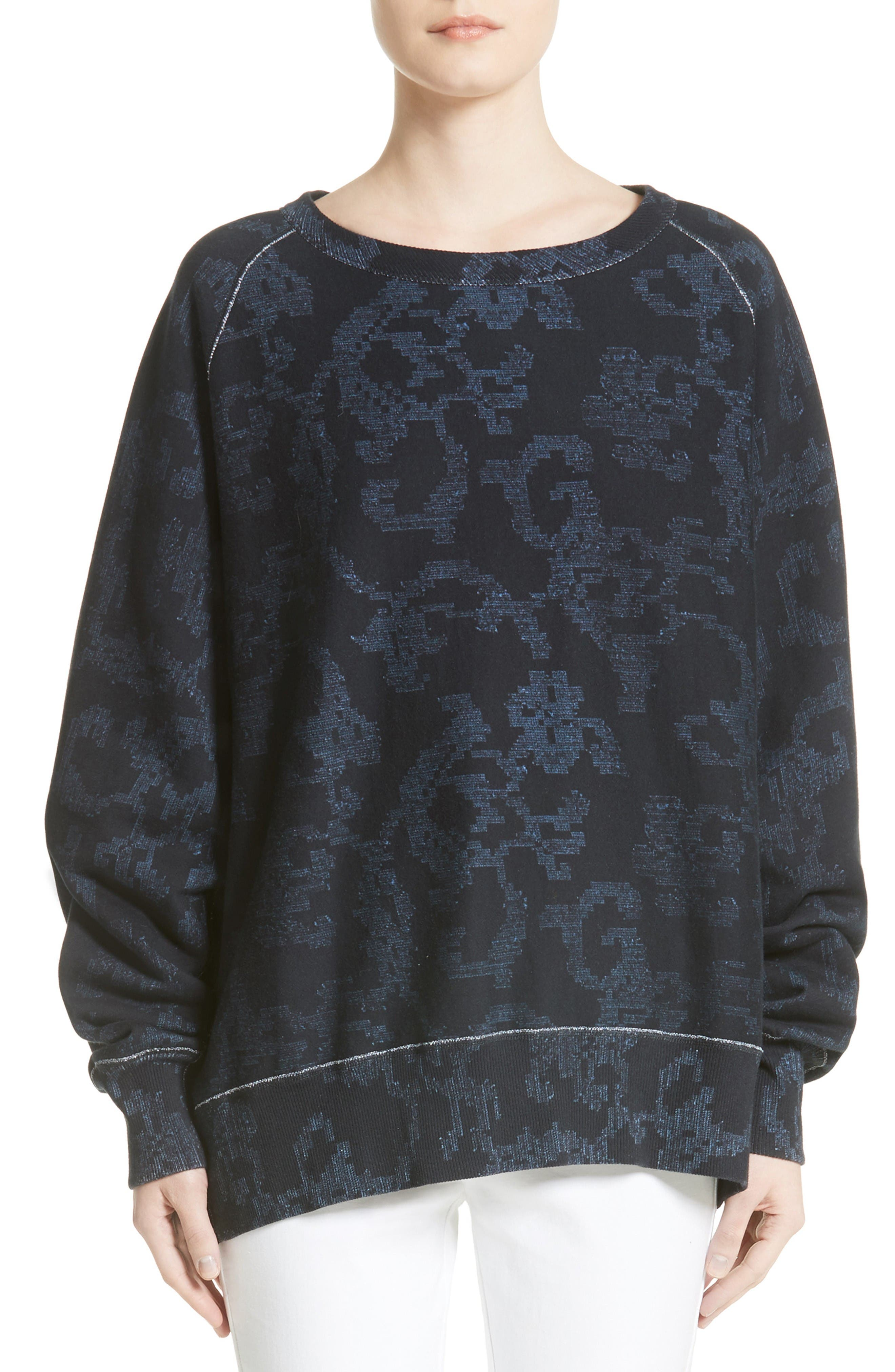 rag & bone Max Print Pullover
