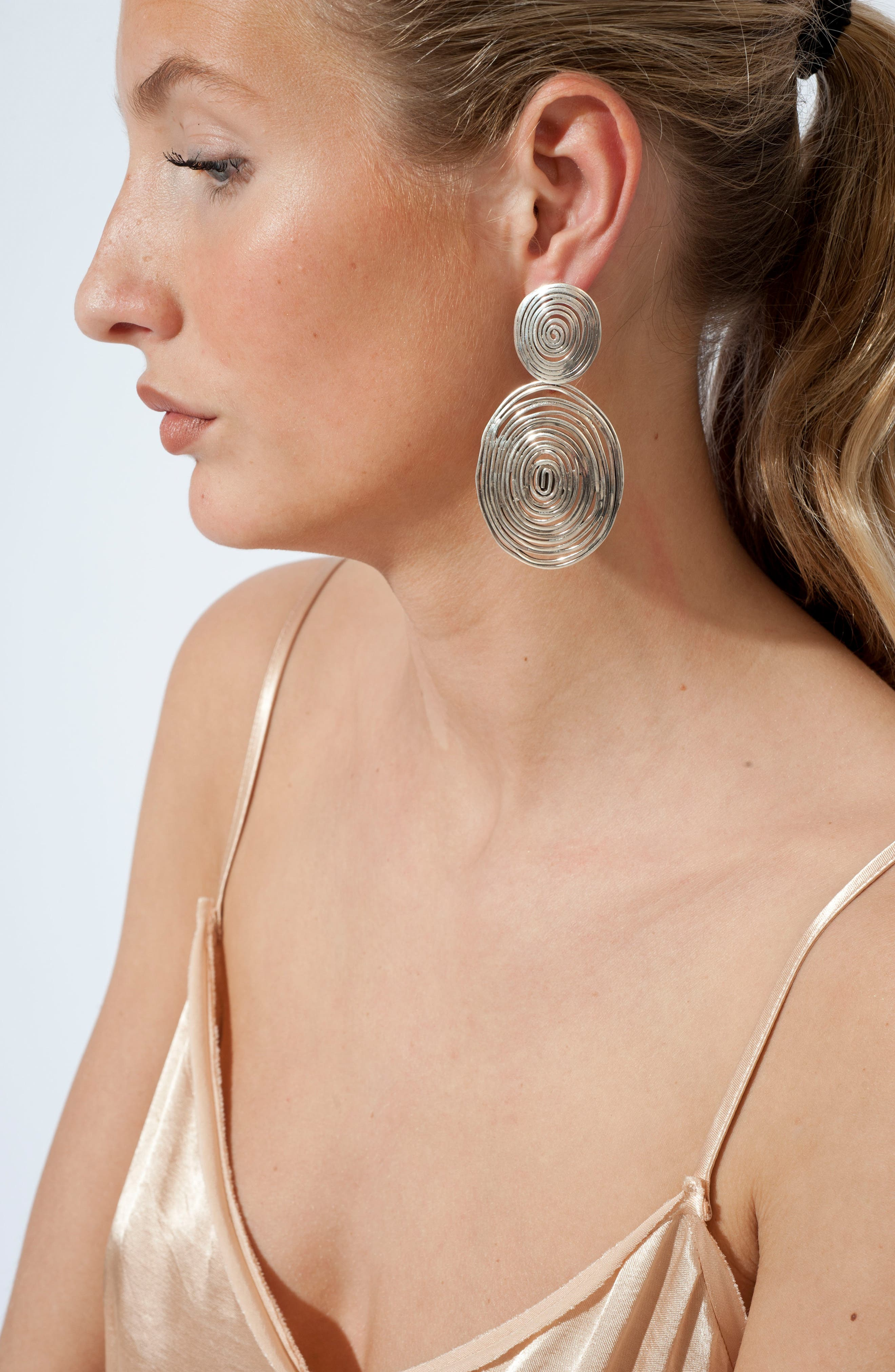 Alternate Image 2  - Gas Bijoux 'Wave' Double Drop Earrings