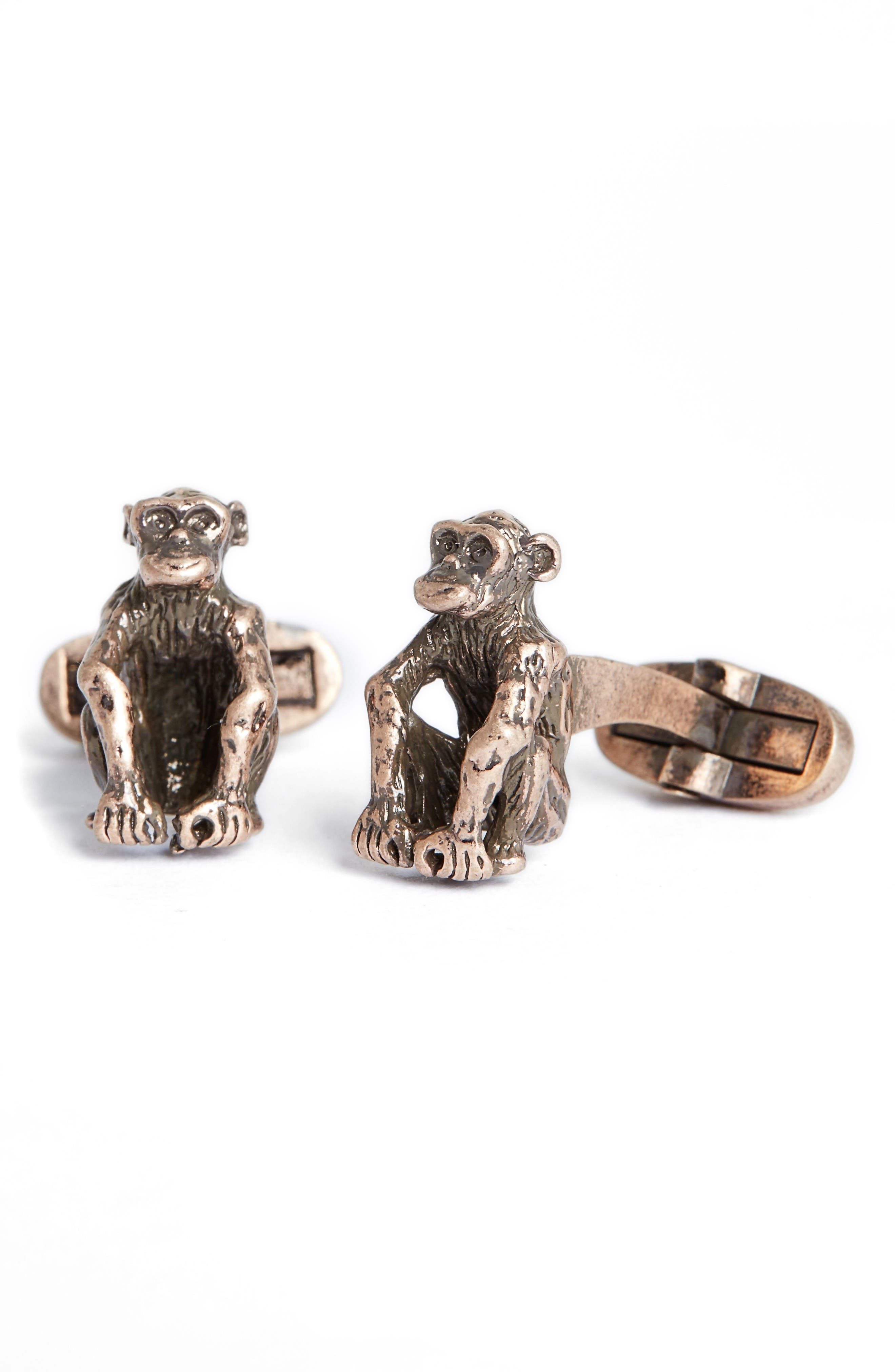Paul Smith Monkey Cuff Links