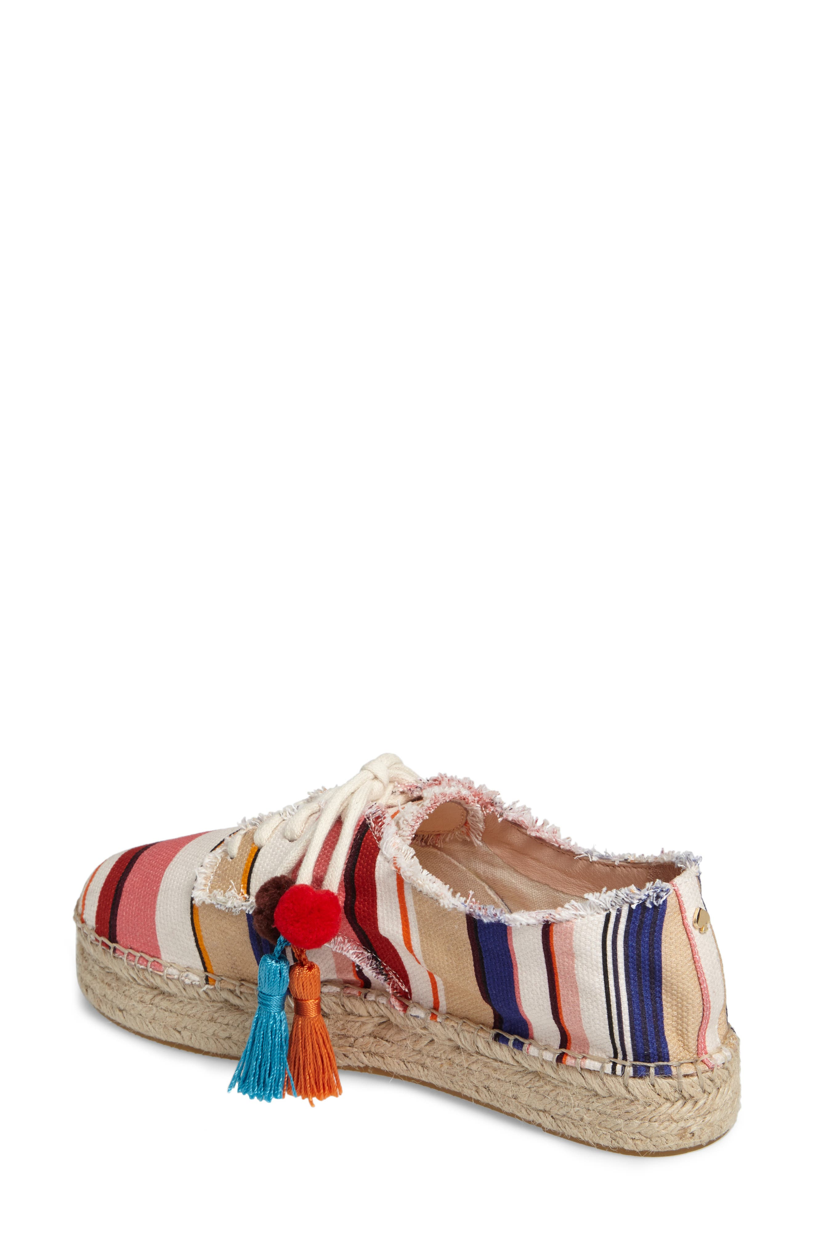 Alternate Image 2  - kate spade new york lane espadrille platform sneaker (Women)