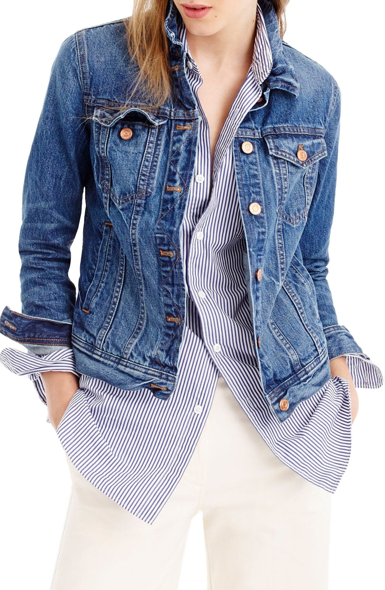J.Crew Denim Jacket (Regular & Petite)