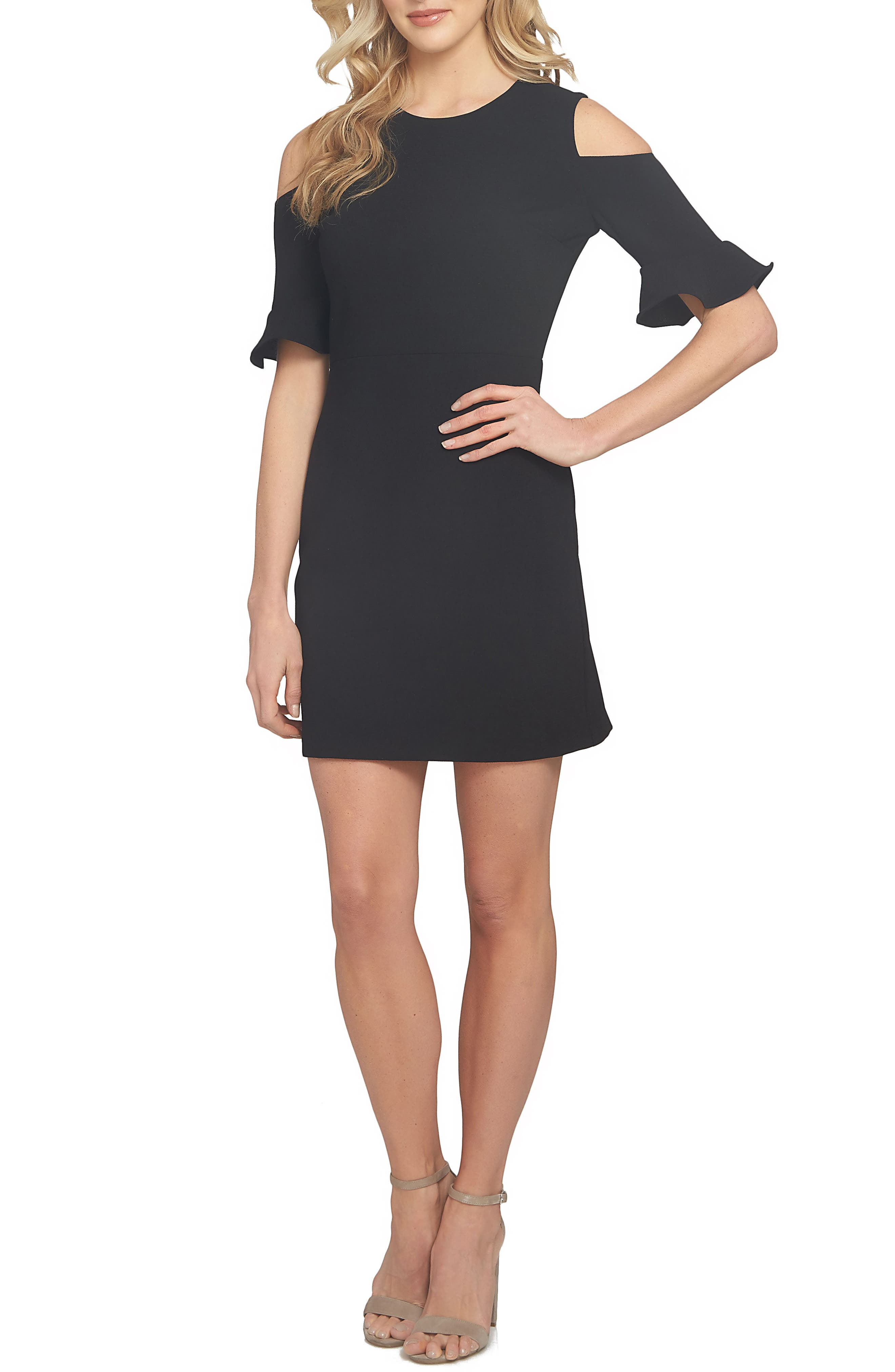 Cece Emily Cold Shoulder Sheath Dress