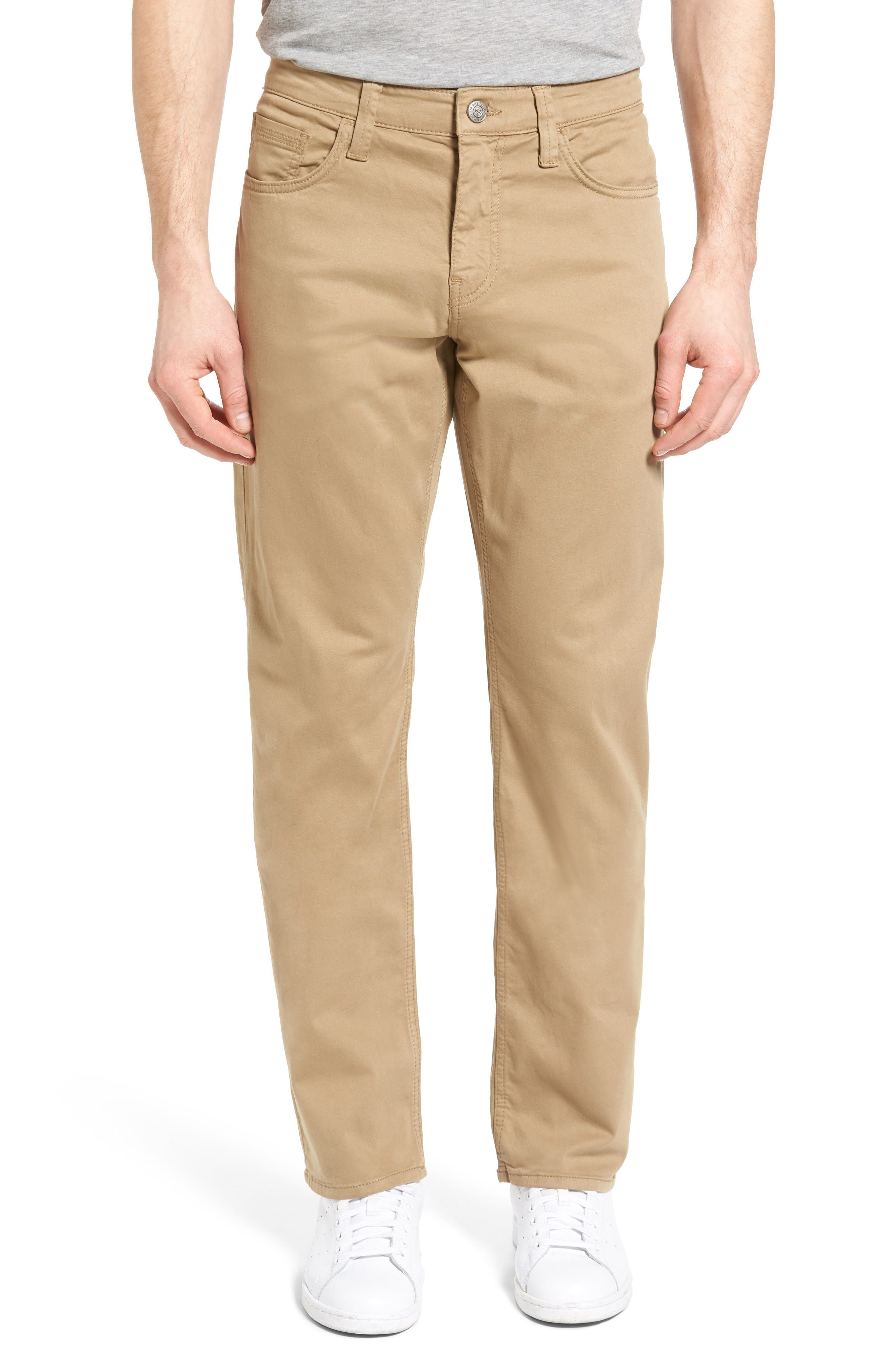 Mavi Jeans Myles Straight Leg Jeans (British Khaki Twill)