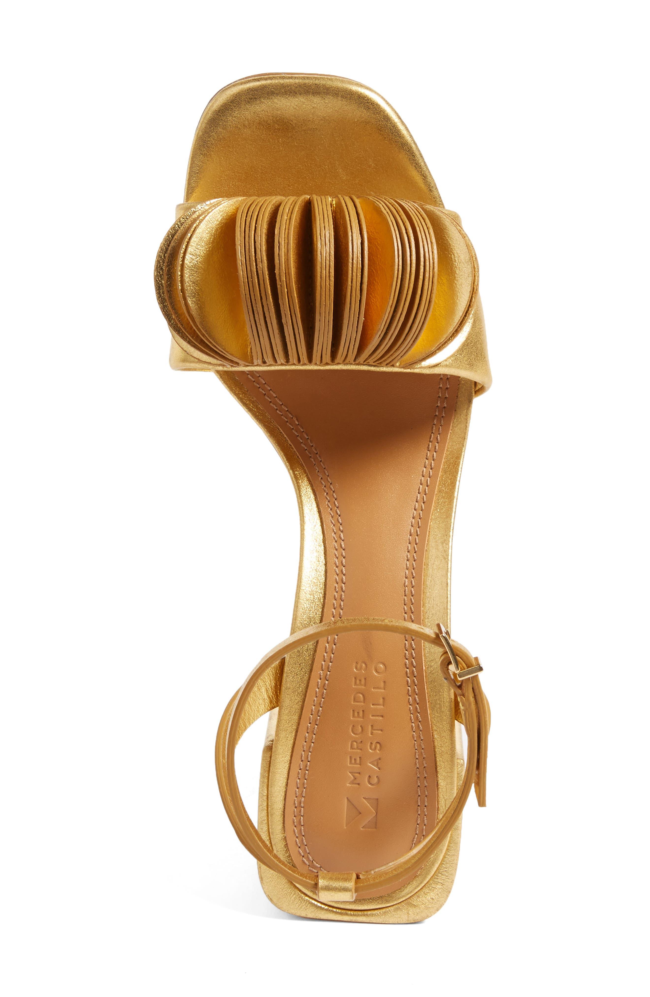 Alternate Image 5  - Mercedes Castillo Riza Block Heel Sandal (Women)