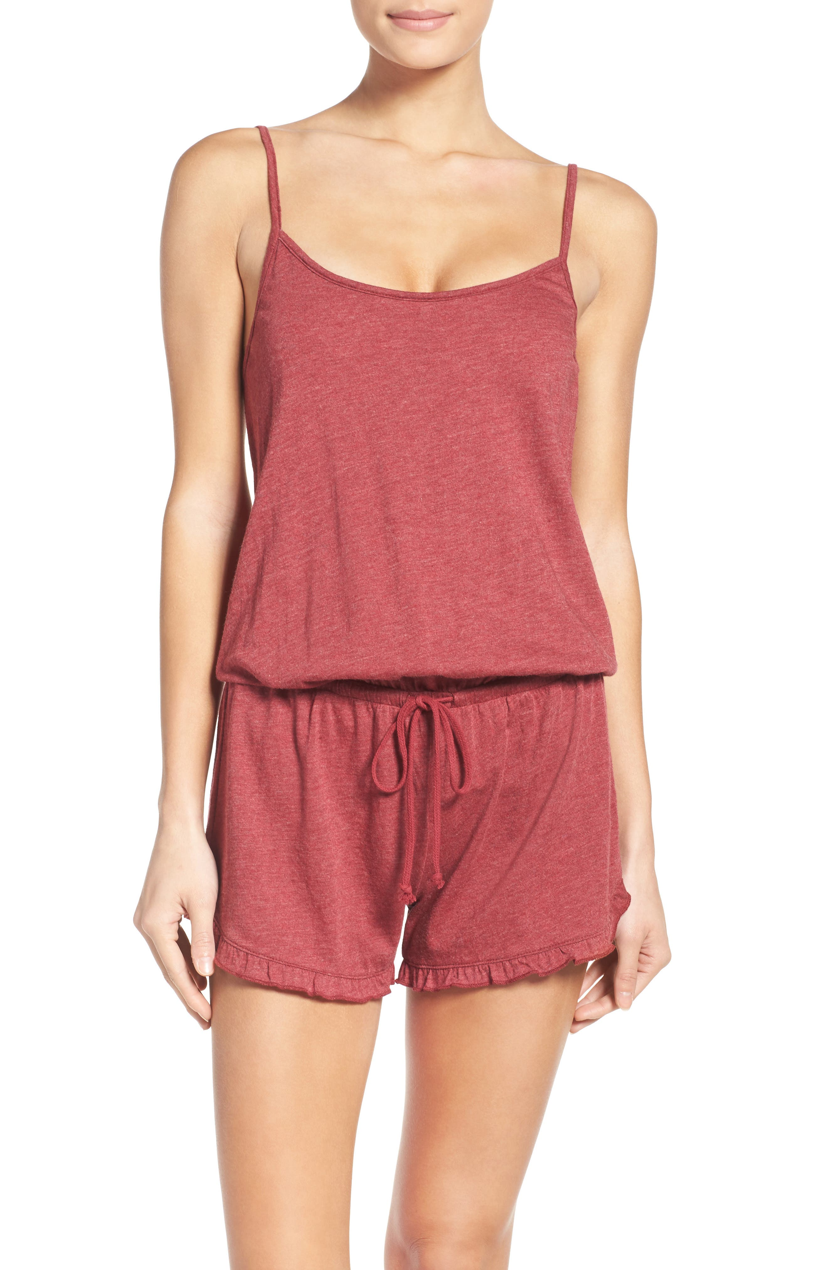 Alternate Image 1 Selected - COZY ZOE Lounge Romper