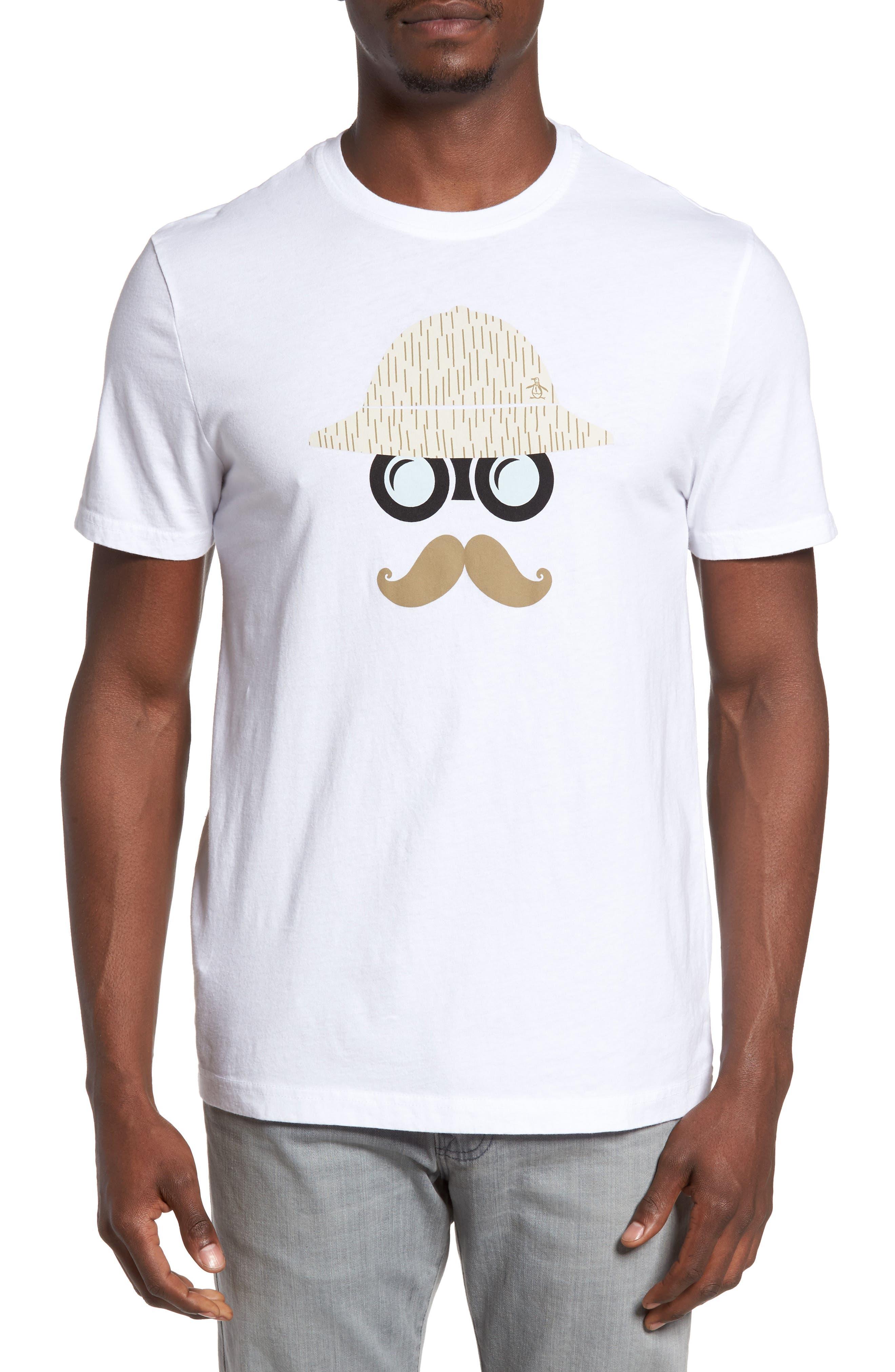 Original Penguin Binoculars Graphic T-Shirt