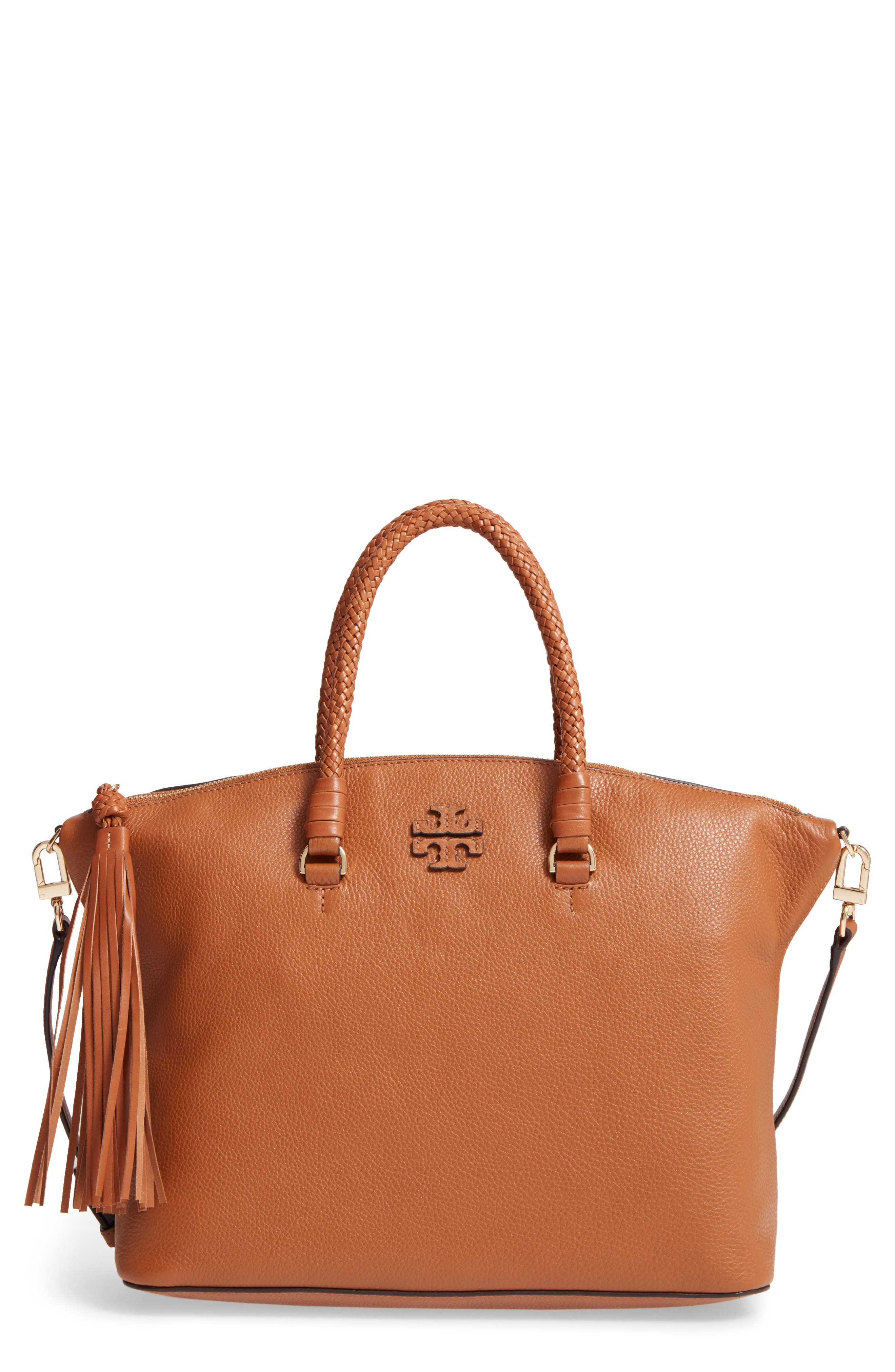 Main Image - Tory Burch Taylor Leather Satchel