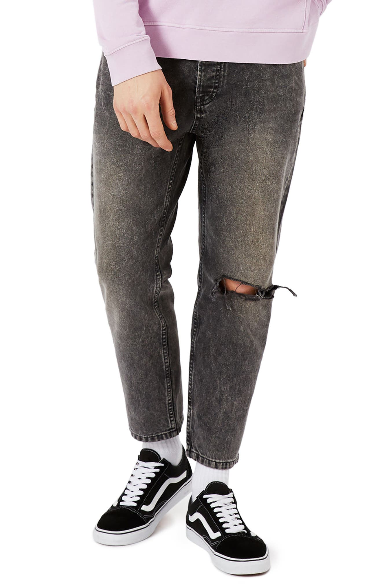 Topman Rigid Tapered Fit Jeans