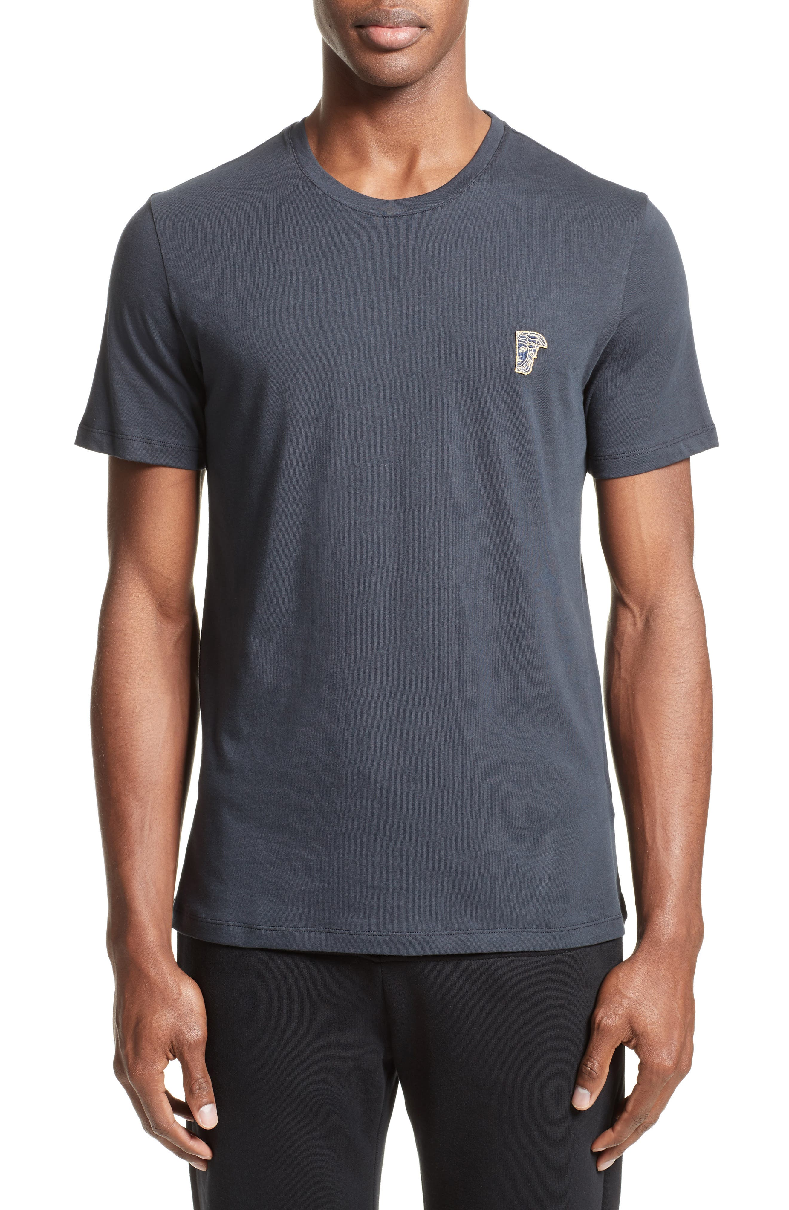 Versace Collection Half Medusa Patch T-Shirt