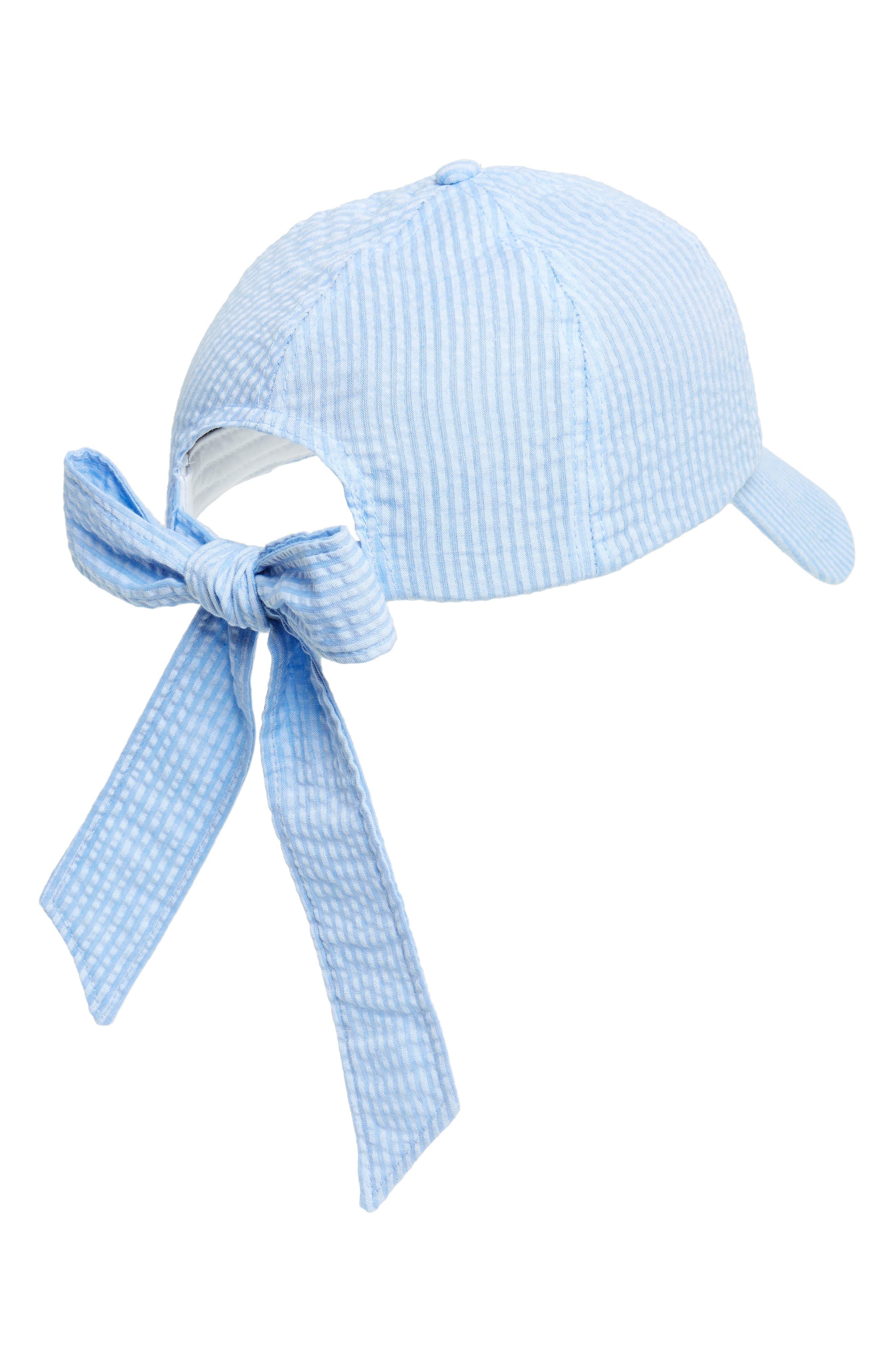 Alternate Image 2  - Topshop Stripe Bow Back Cap