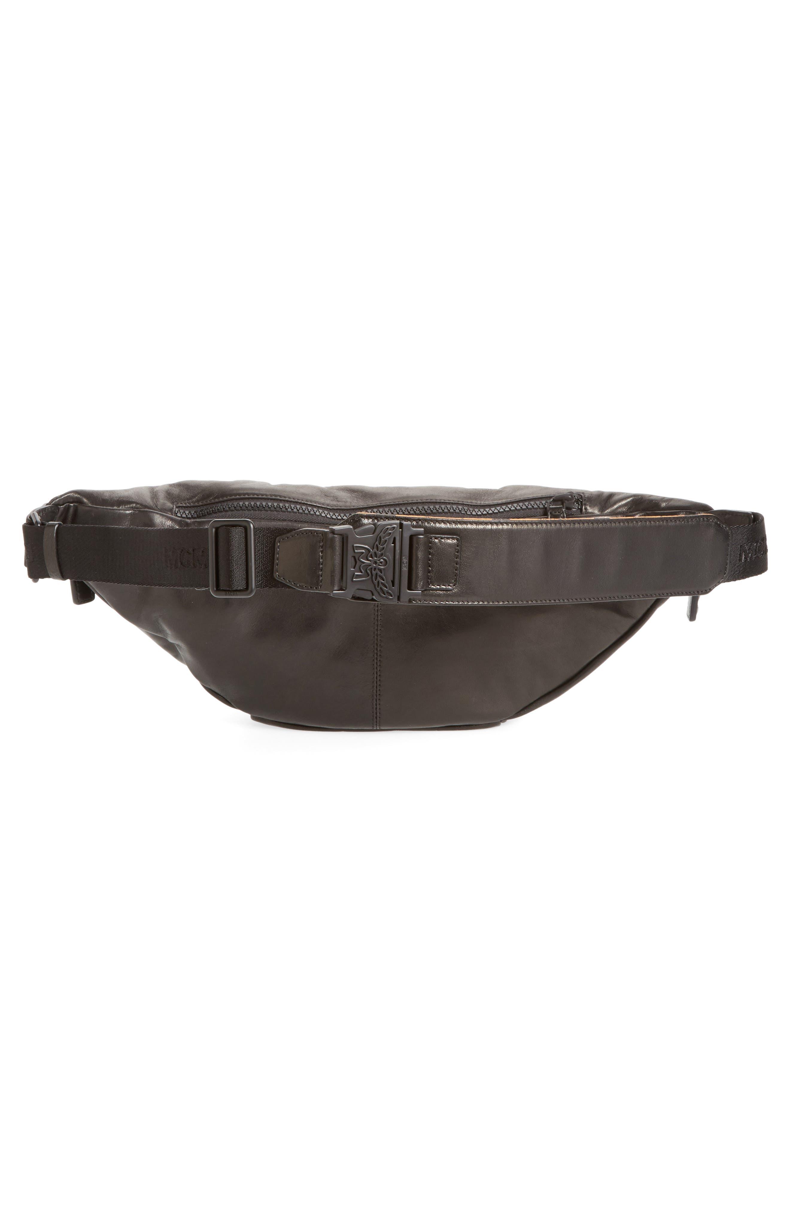 Alternate Image 3  - MCM Leather Waist Bag