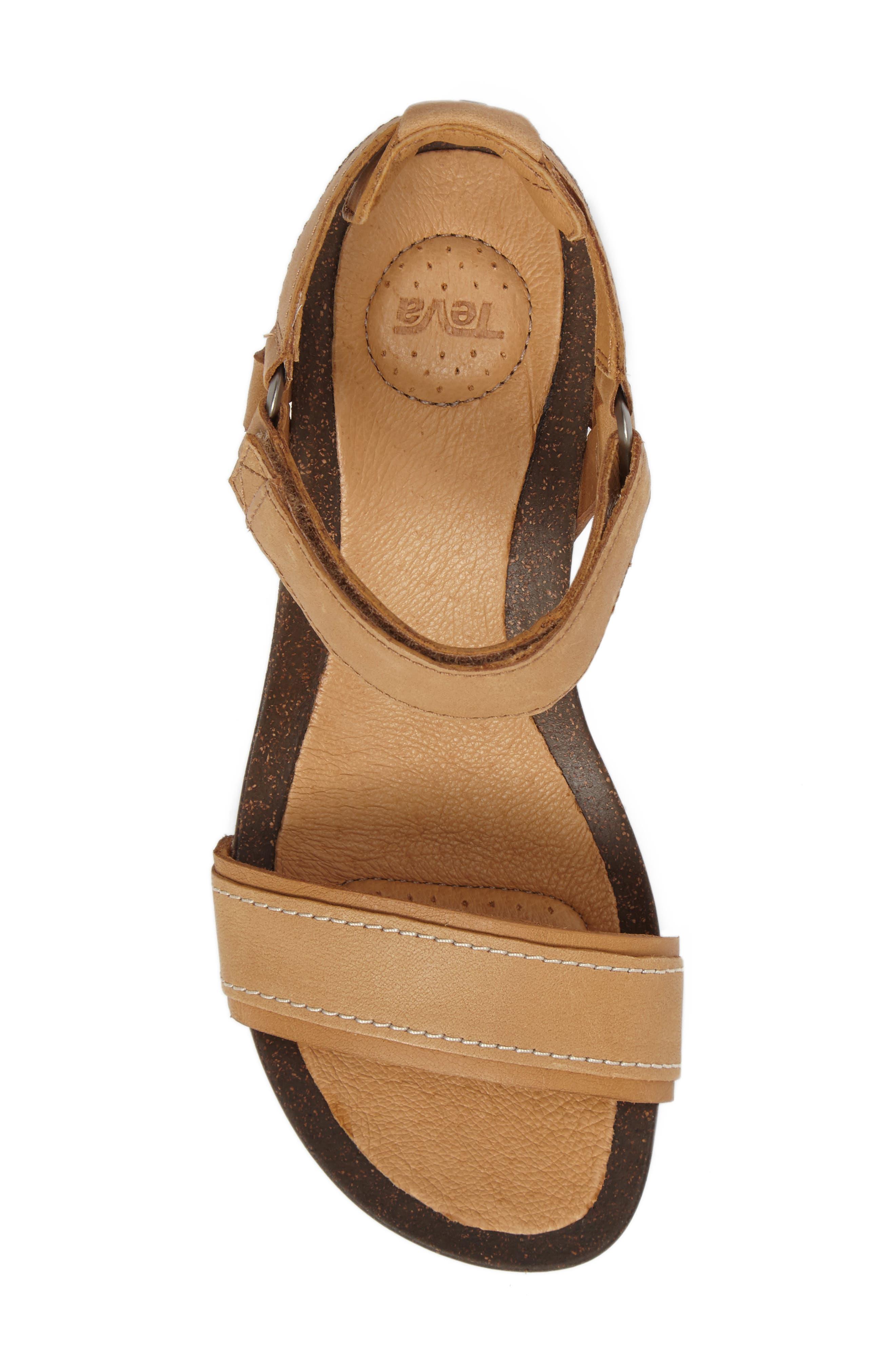 Alternate Image 5  - Tevo Ysidro Stitch Wedge Sandal (Women)