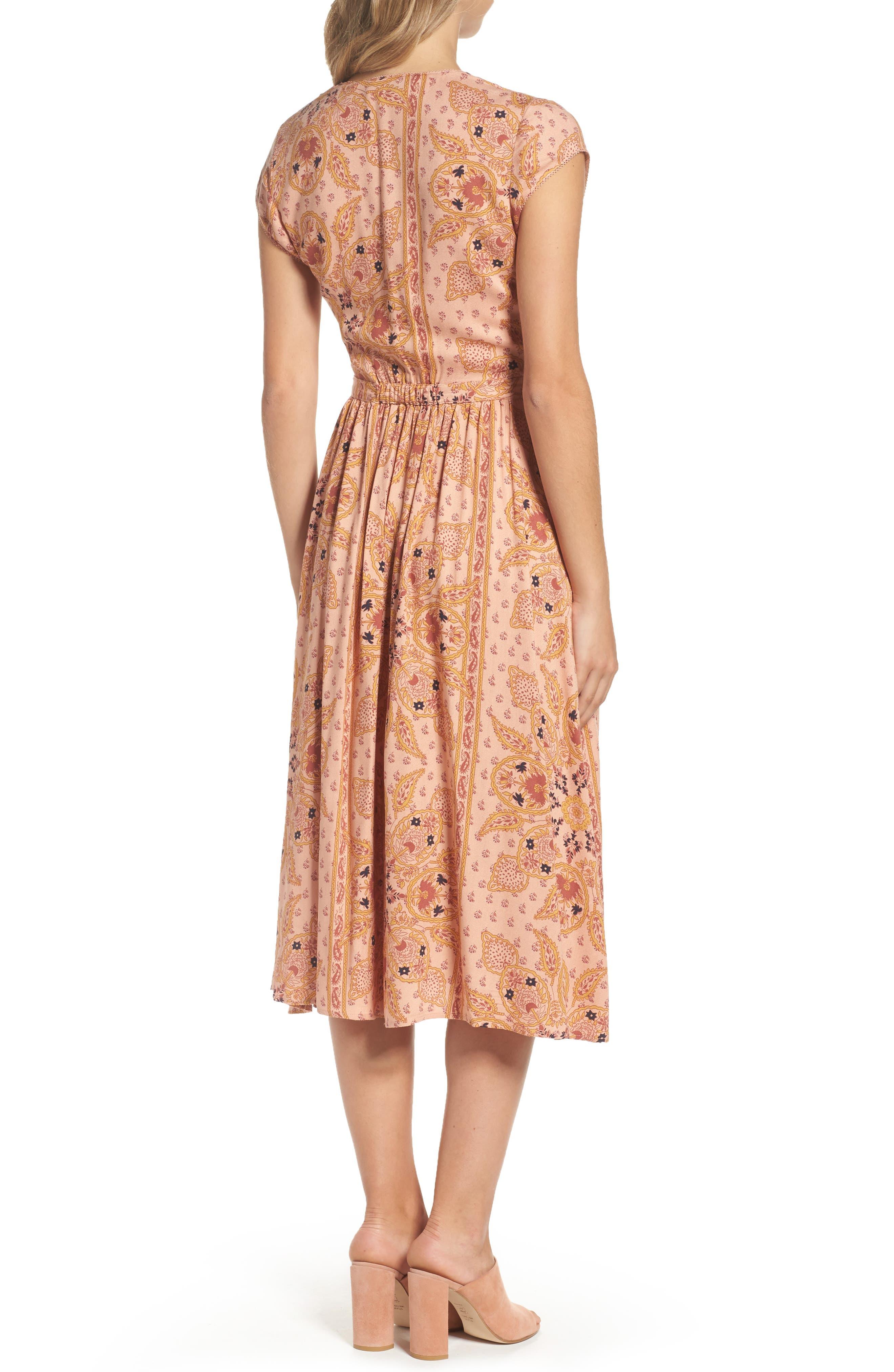 Alternate Image 2  - Knot Sisters Park Slope Cutout Midi Dress