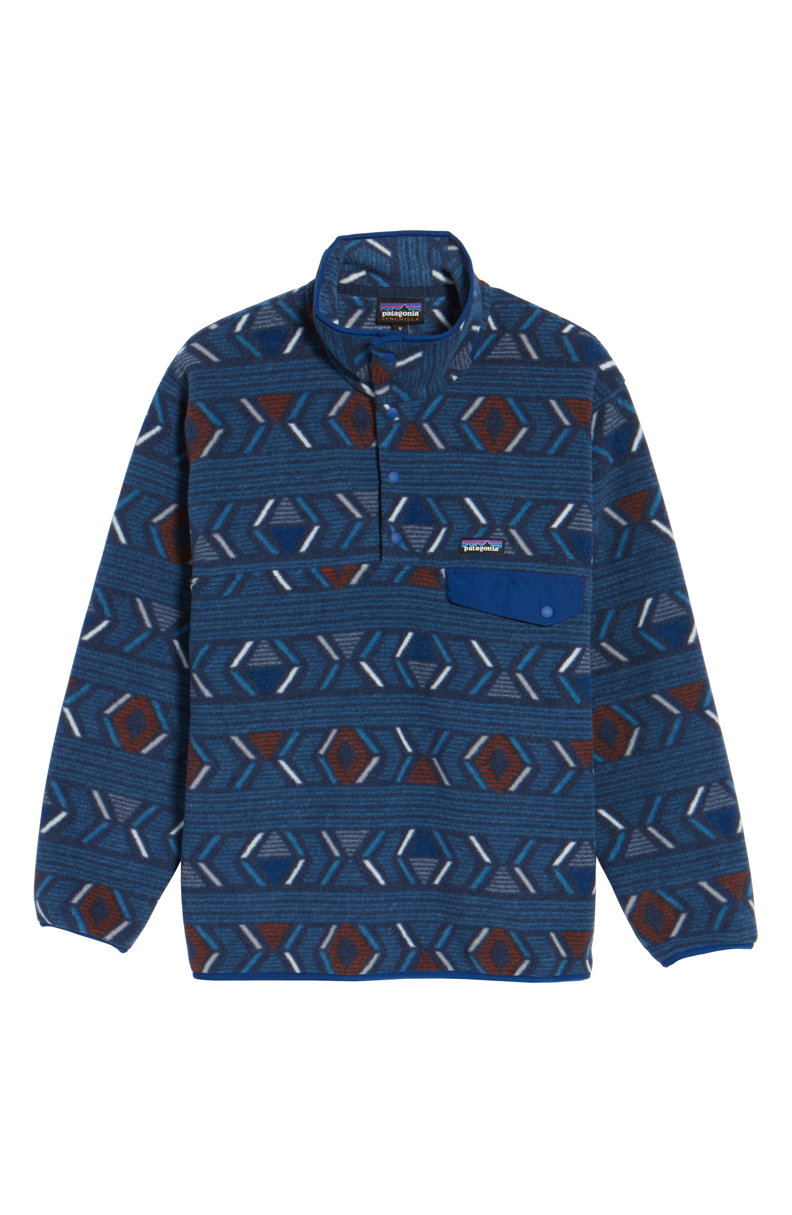 Alternate Image 5  - Patagonia 'Synchilla® Snap-T' Pullover