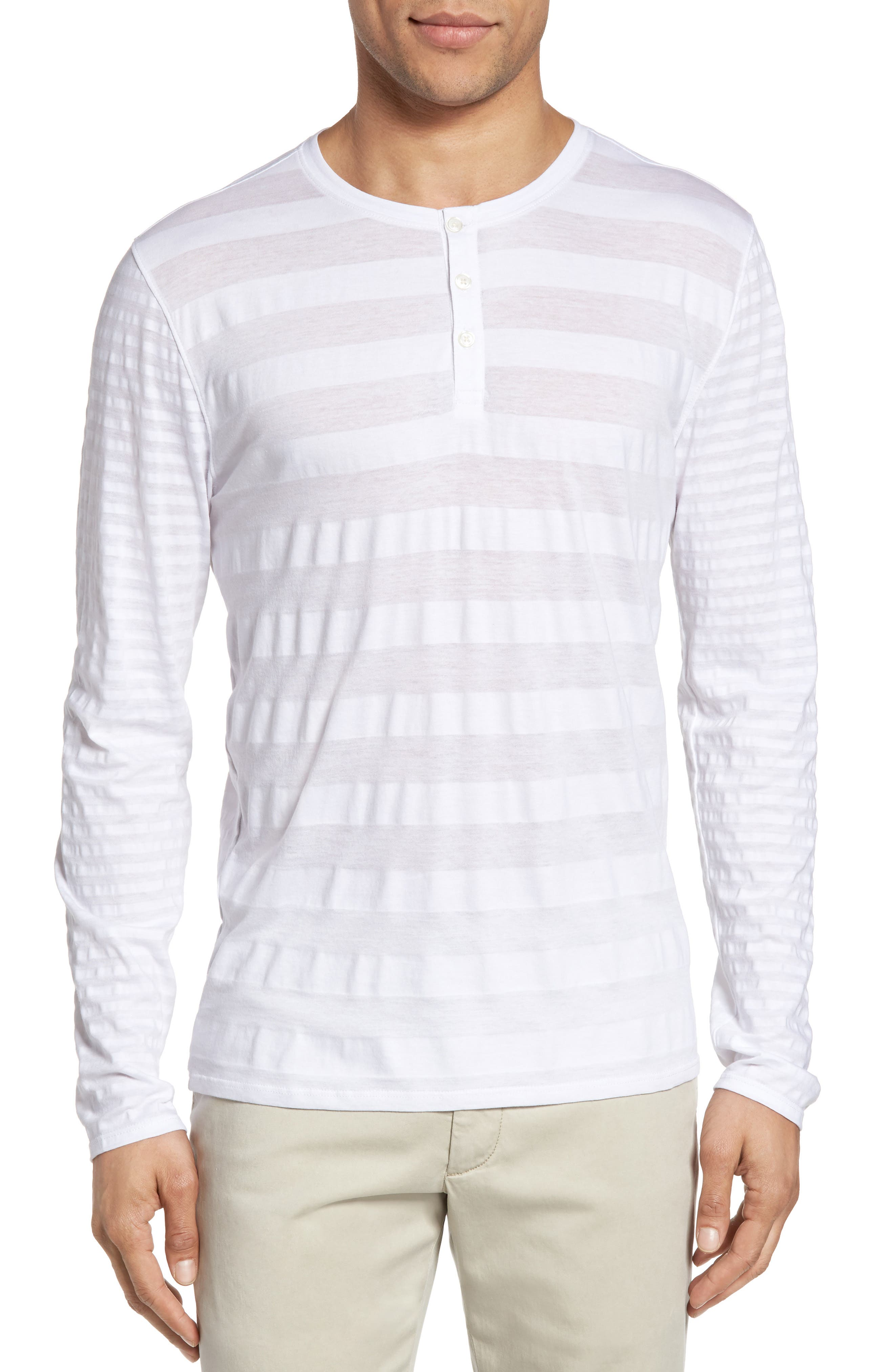 Zachary Prell Redwood Pima Cotton Henley