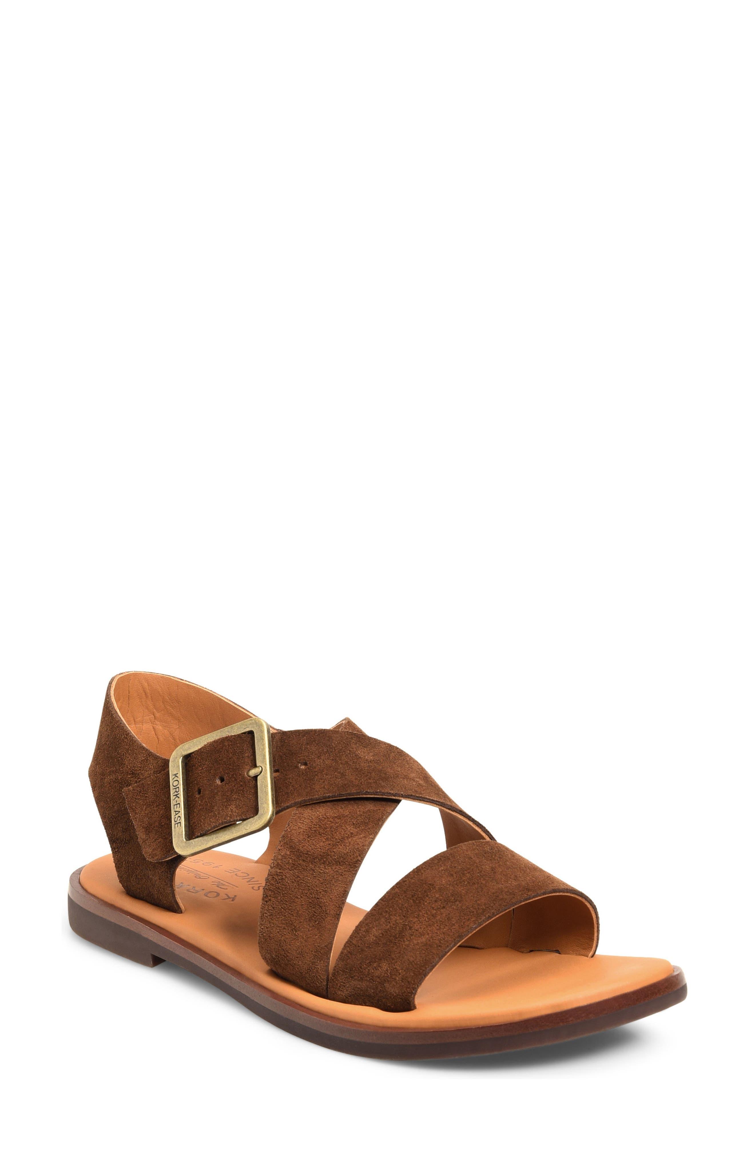 Alternate Image 1 Selected - Kork-Ease® 'Nara' Flat Sandal (Women)