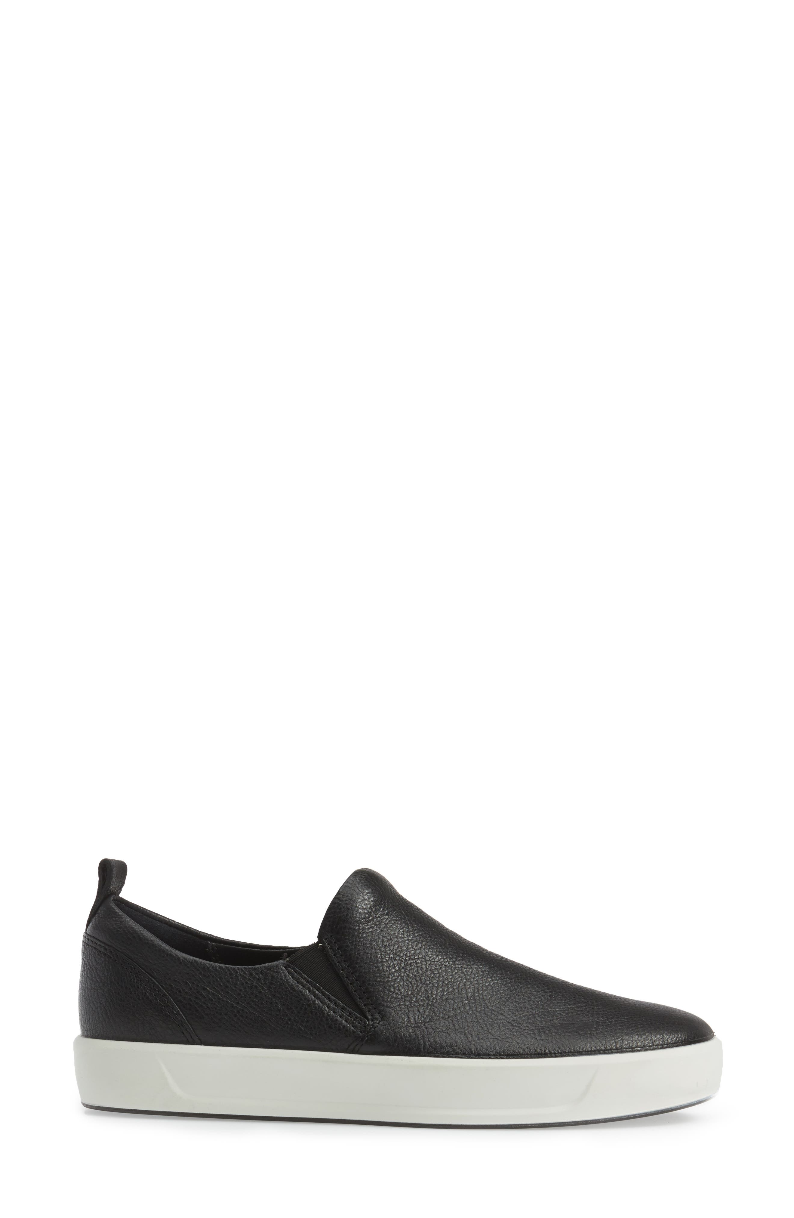 Alternate Image 3  - ECCO Soft 8 Slip-On Sneaker (Women)
