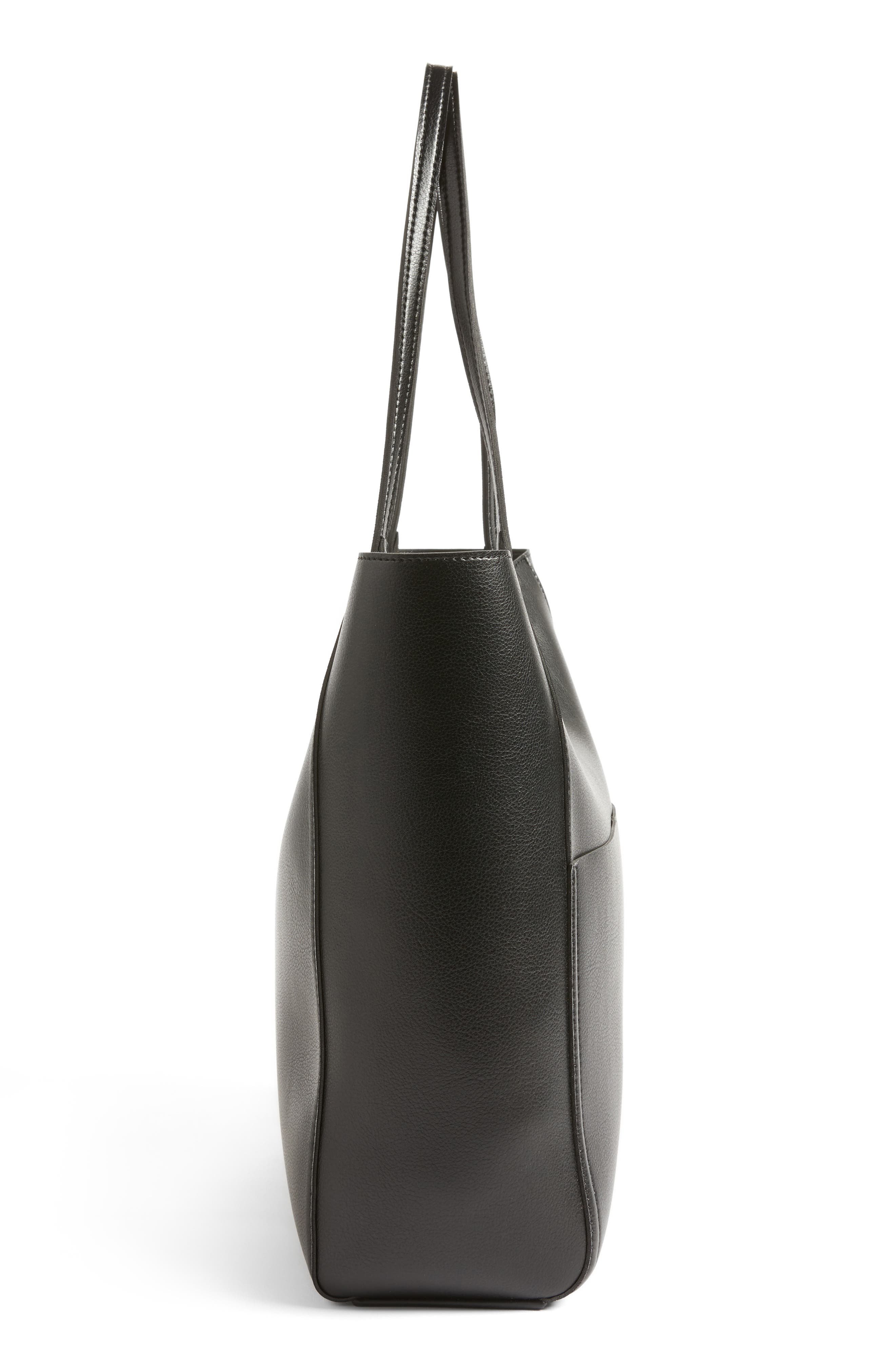 Alternate Image 5  - Sole Society Glenn Faux Leather Tote