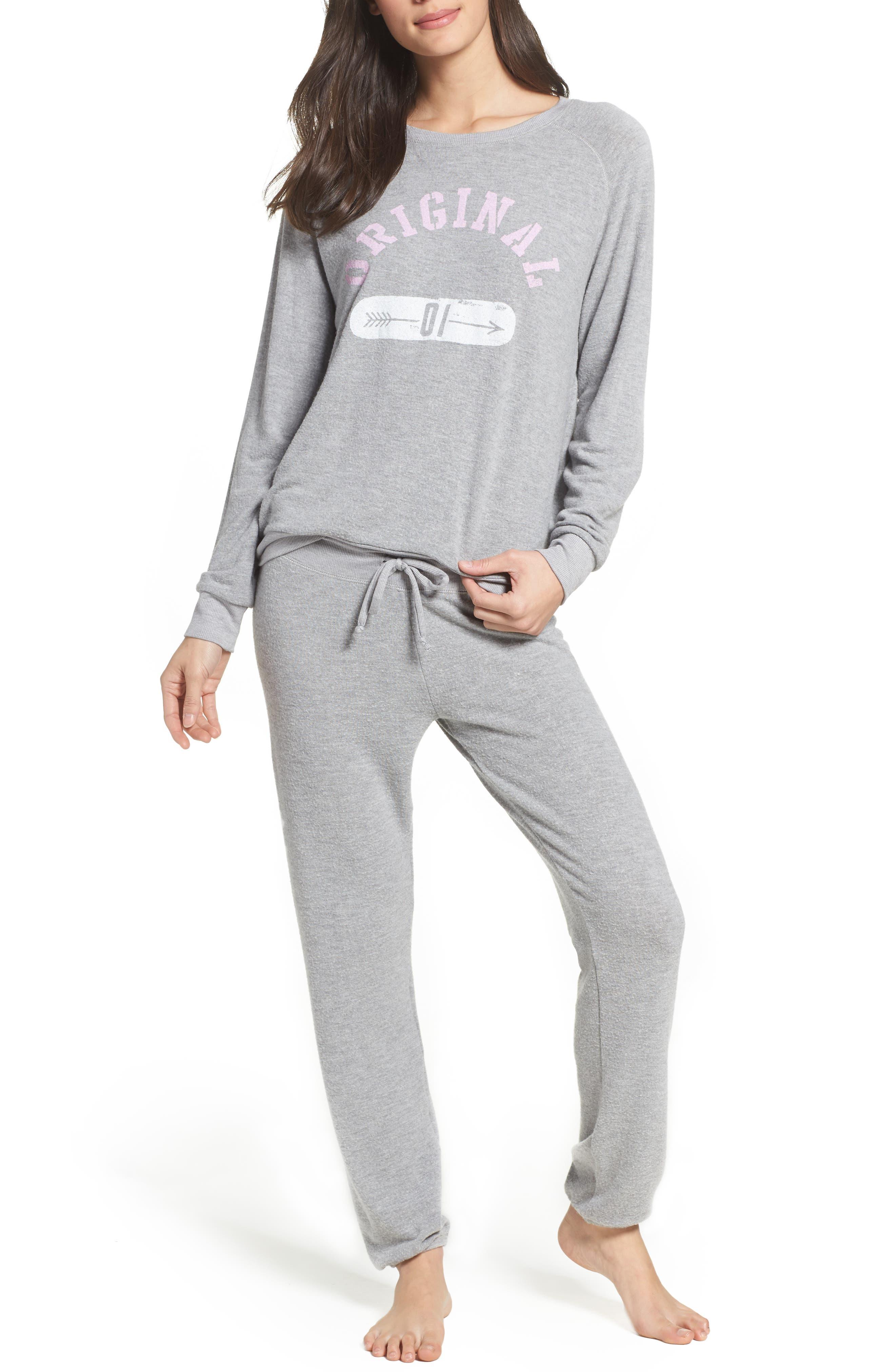 Junk Food Lounge Sweatshirt & Pants