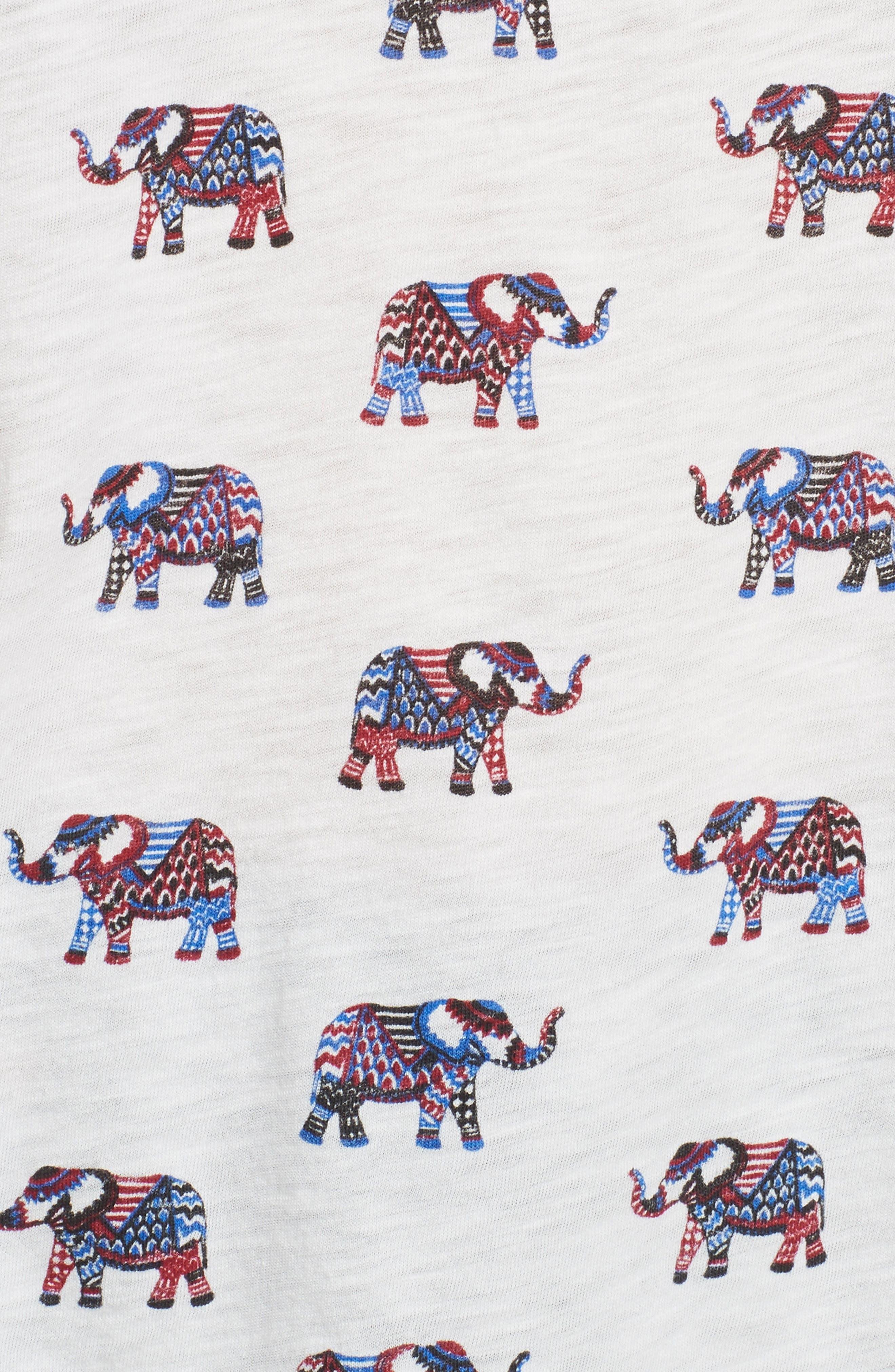 Alternate Image 5  - Soft Joie Dillon Elephant Print Tee