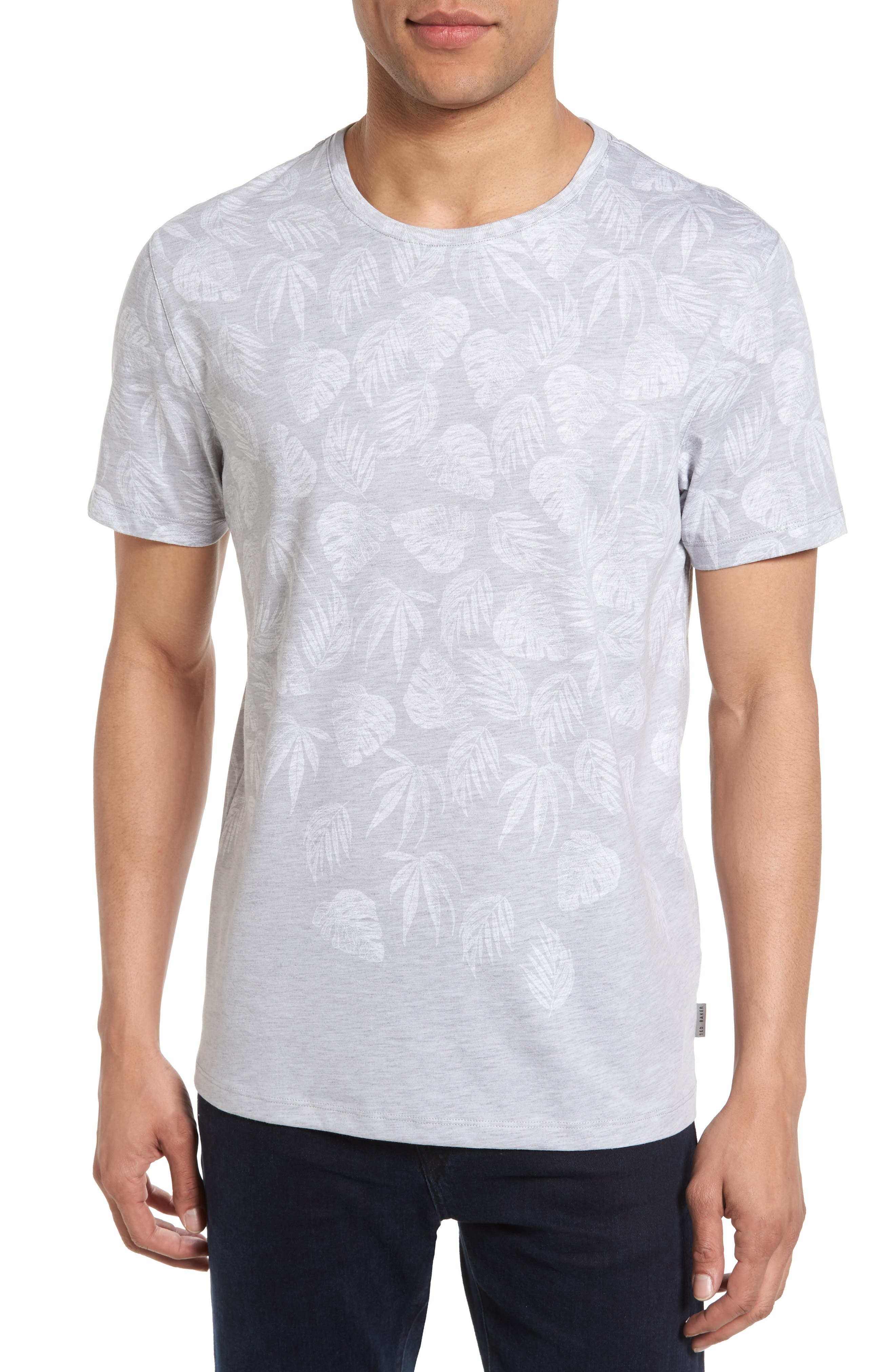 Ted Baker London Montana Leaf Graphic T-Shirt
