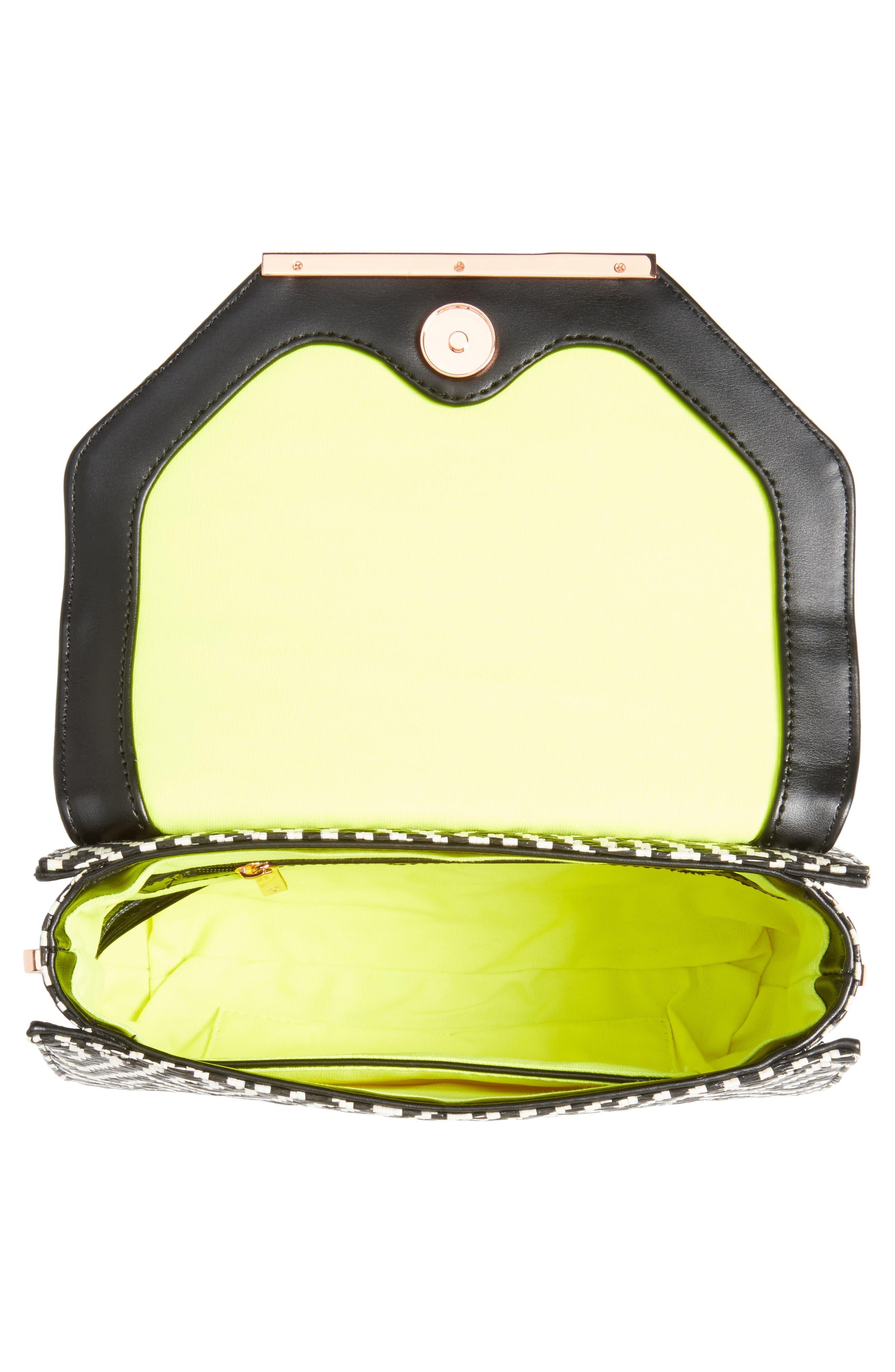 Alternate Image 4  - Ted Baker London Woven Crossbody Bag