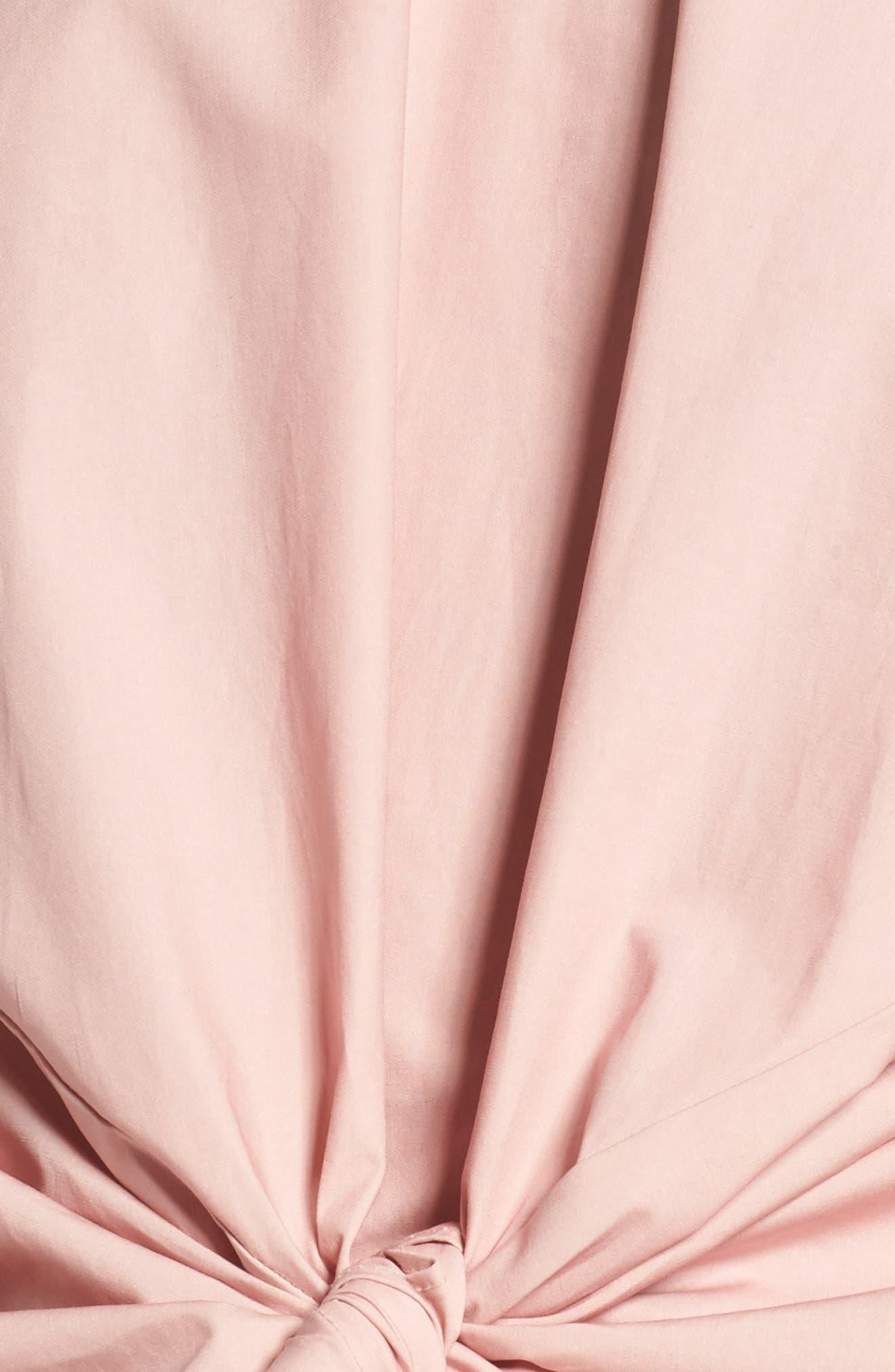 Alternate Image 5  - BP. Tie Front Blouse