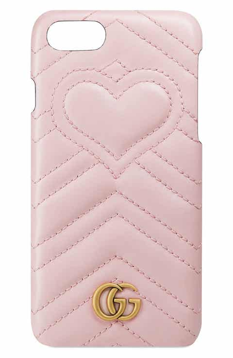 Gucci GG Marmont Leather iPhone 7 Case