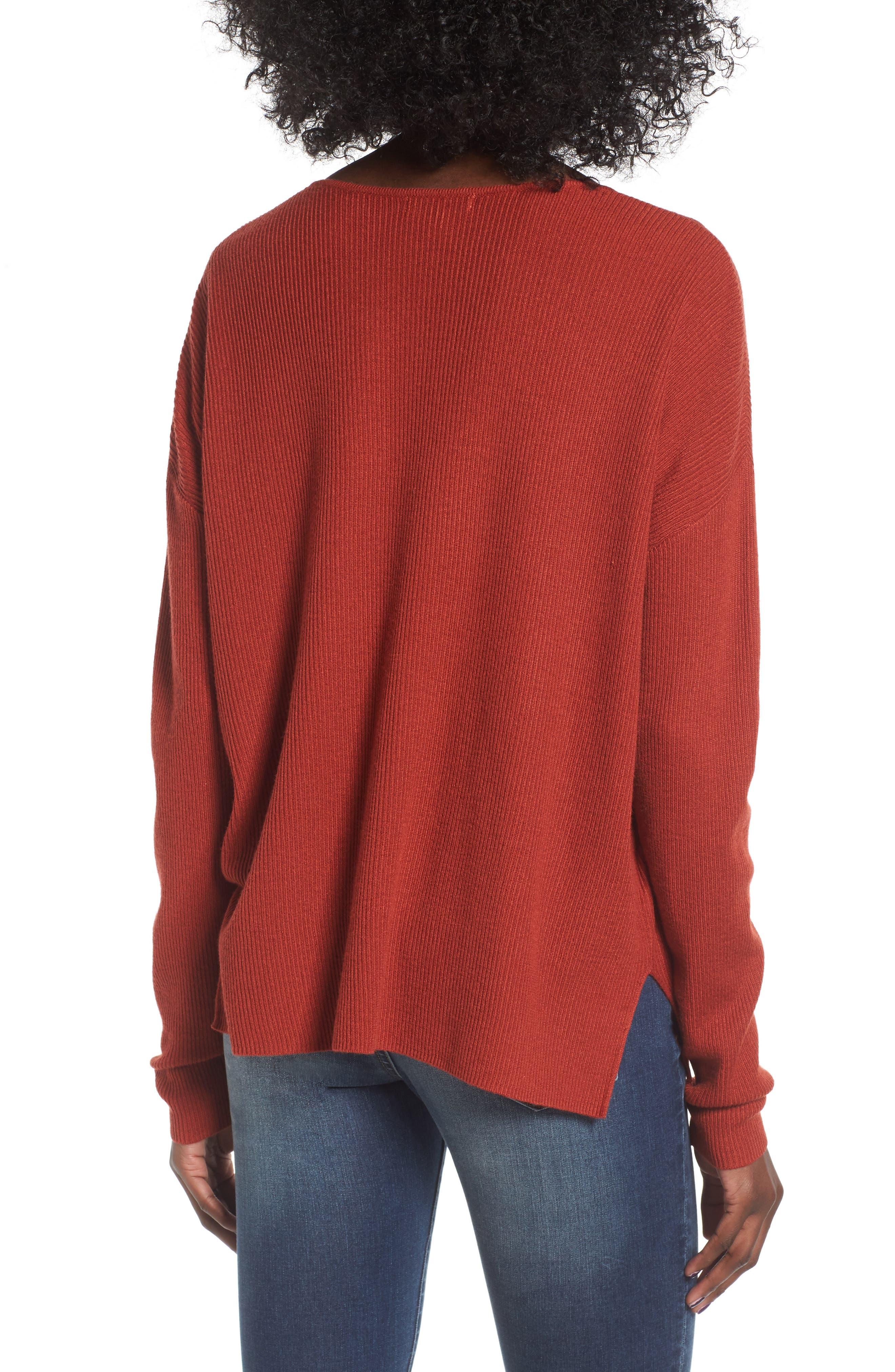 Alternate Image 2  - BP. V-Neck Pullover