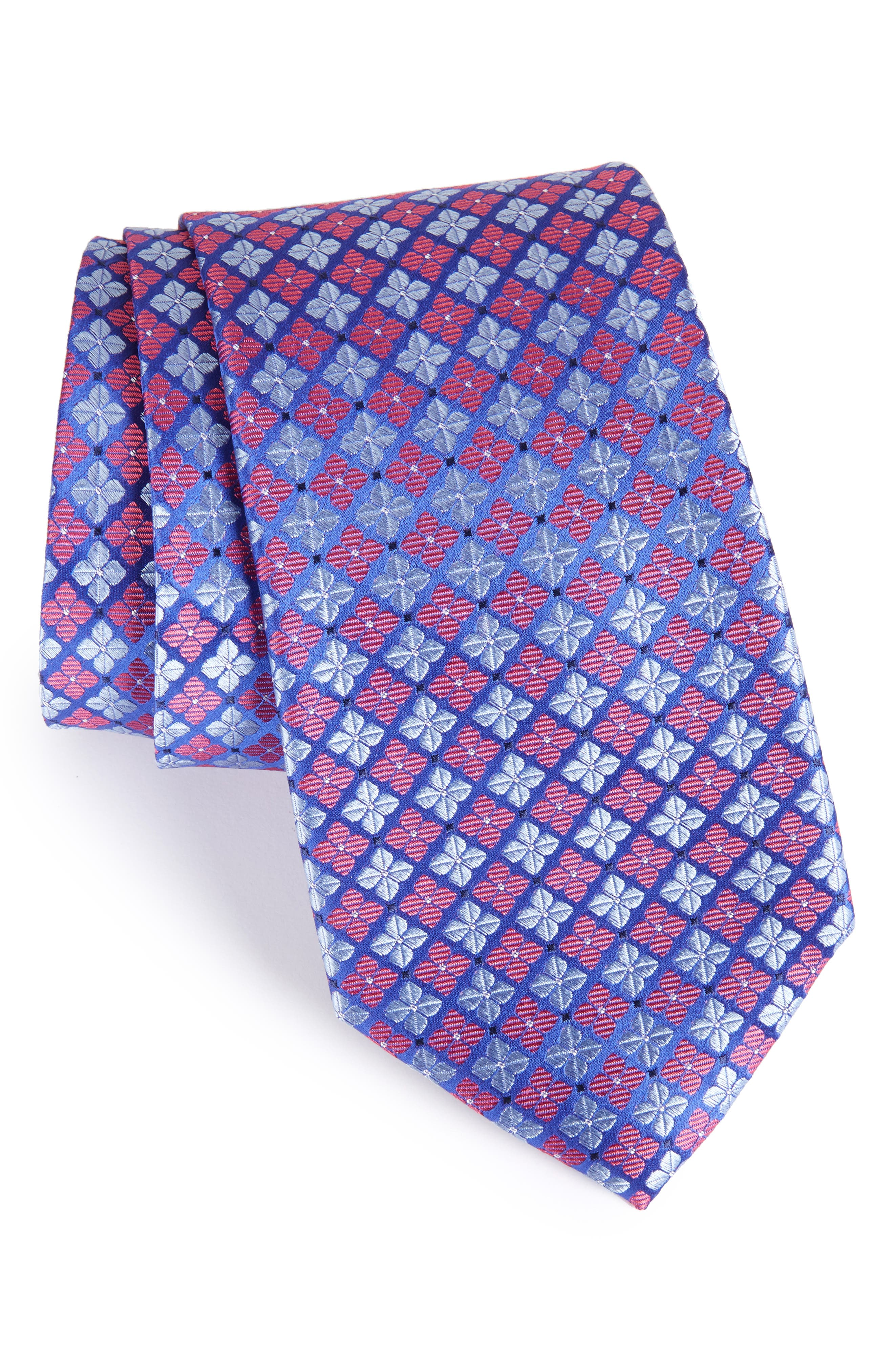 Nordstrom Shamrock Silk Tie (X-Long)