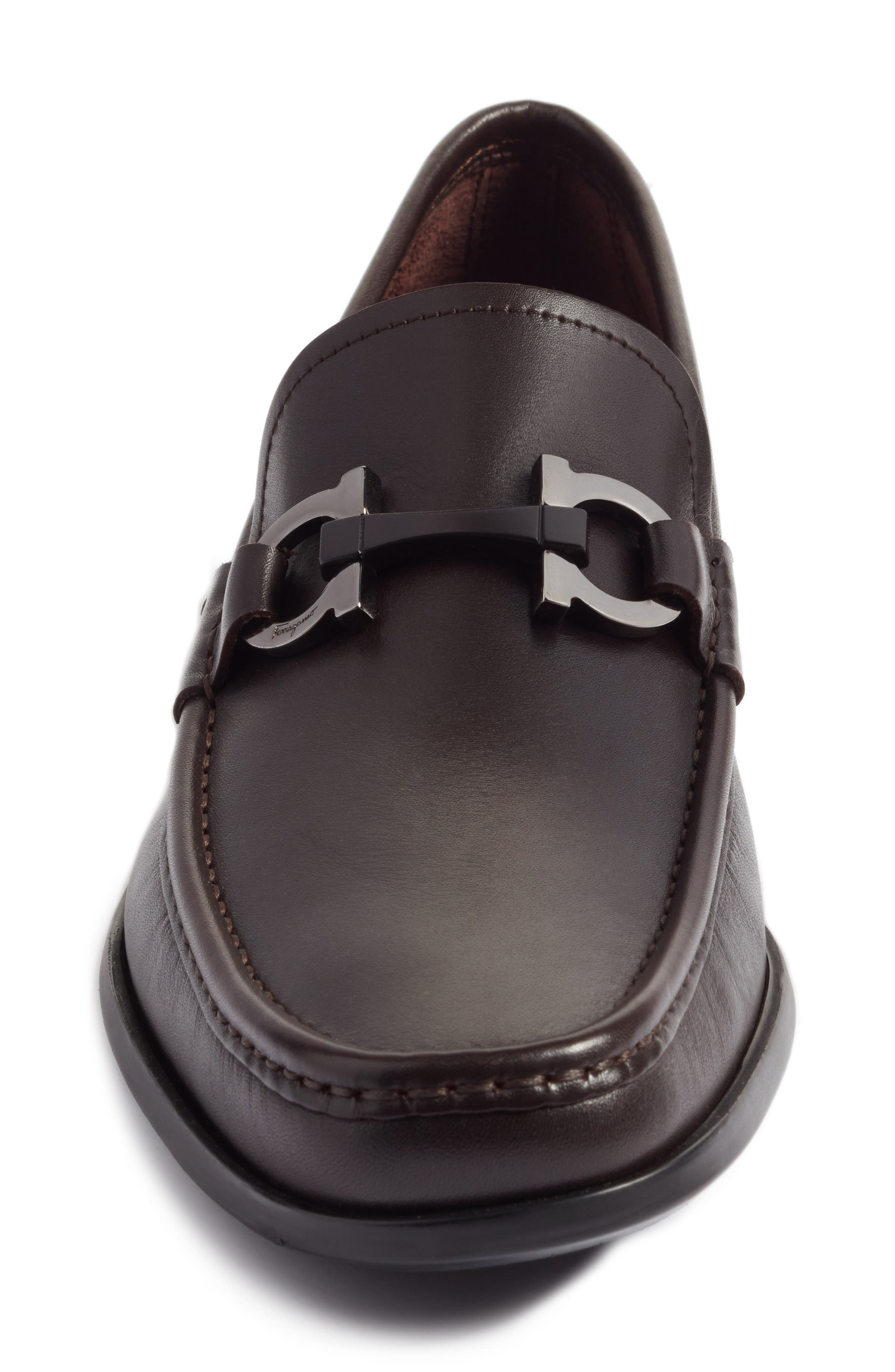 Alternate Image 4  - Salvatore Ferragamo Grandioso Bit Loafer (Men)
