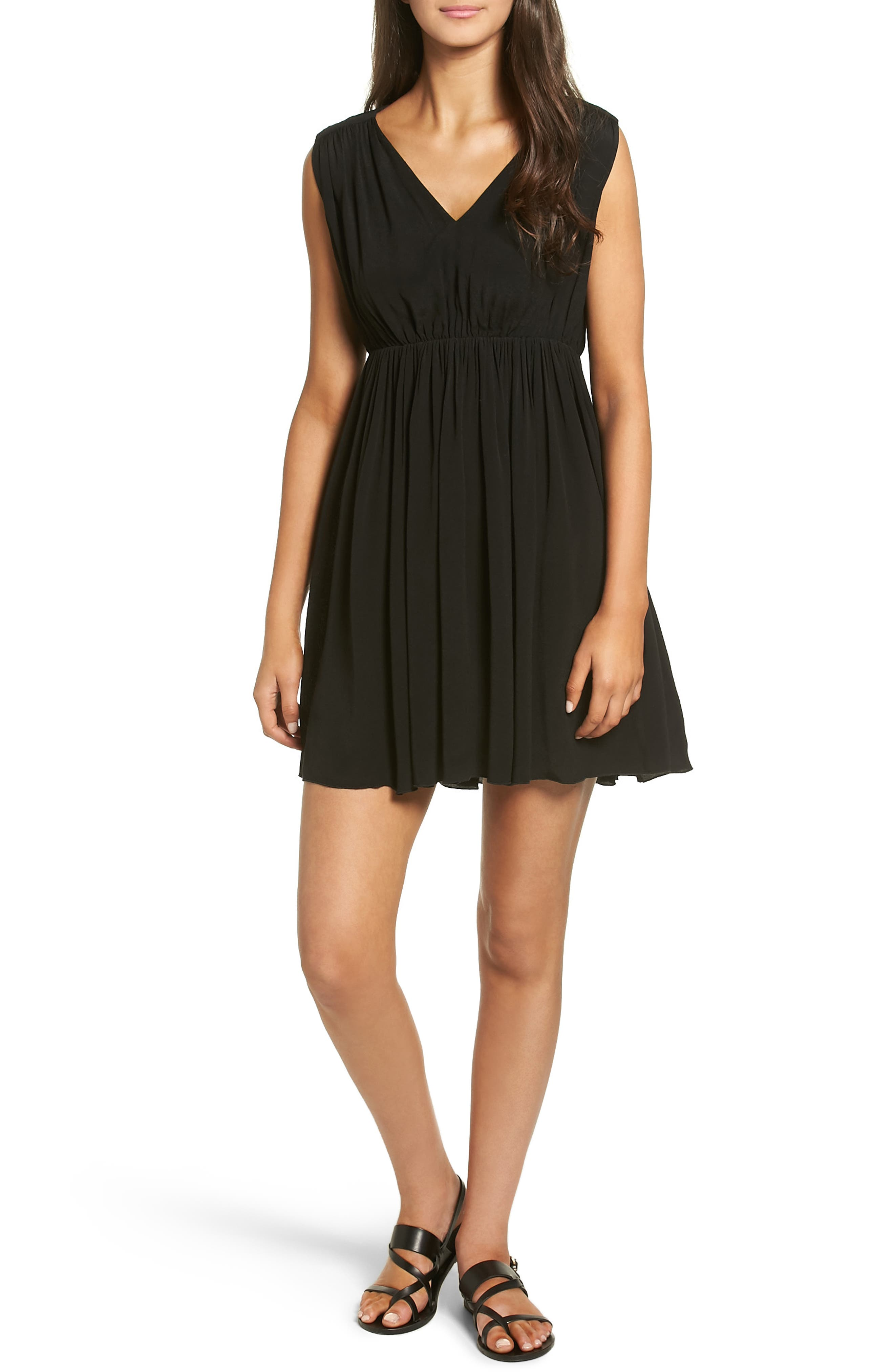 Main Image - Madewell Magnolia Tie Back Dress