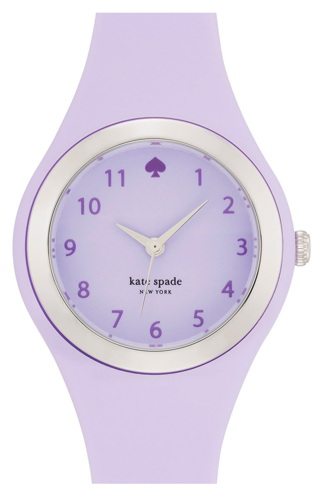 Alternate Image 1 Selected - kate spade new york 'rumsey' plastic strap watch, 30mm