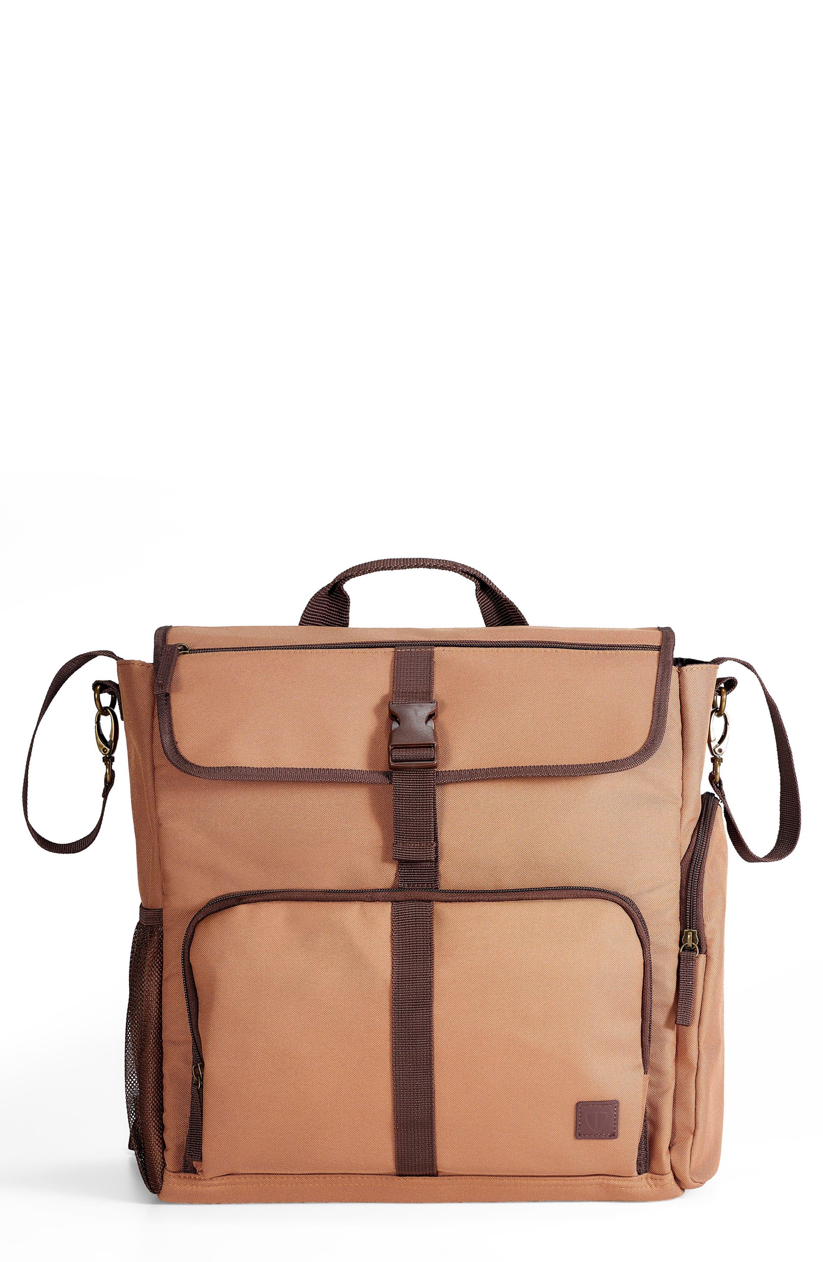 DIAPER DUDE Convertible Diaper Backpack