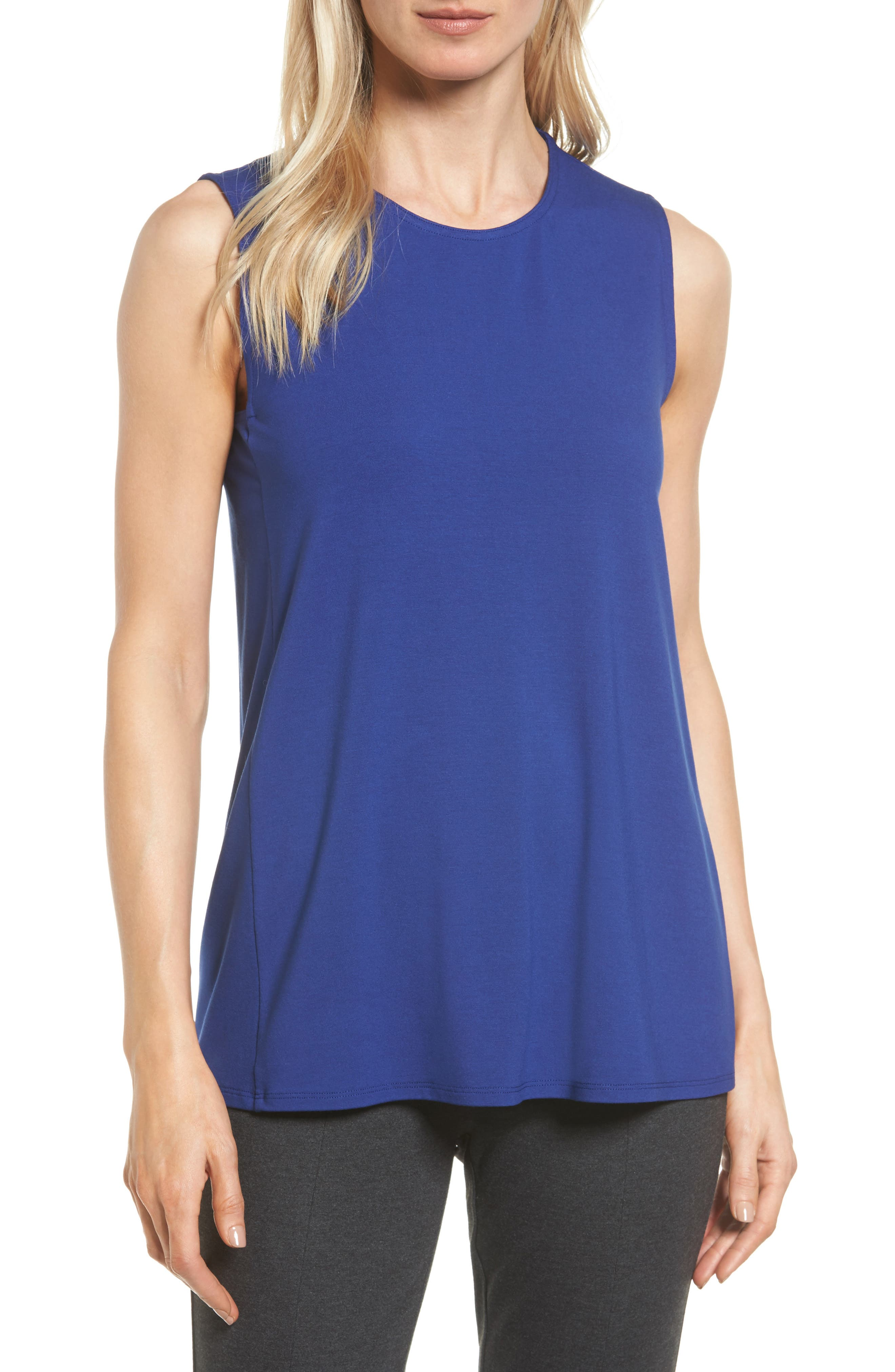 Eileen Fisher Long Jersey Tank (Regular & Petite)