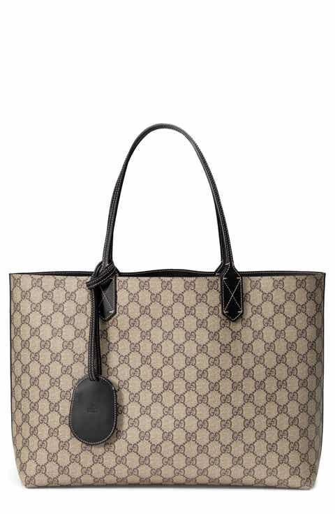 Gucci Turnaround Medium Reversible Leather Tote