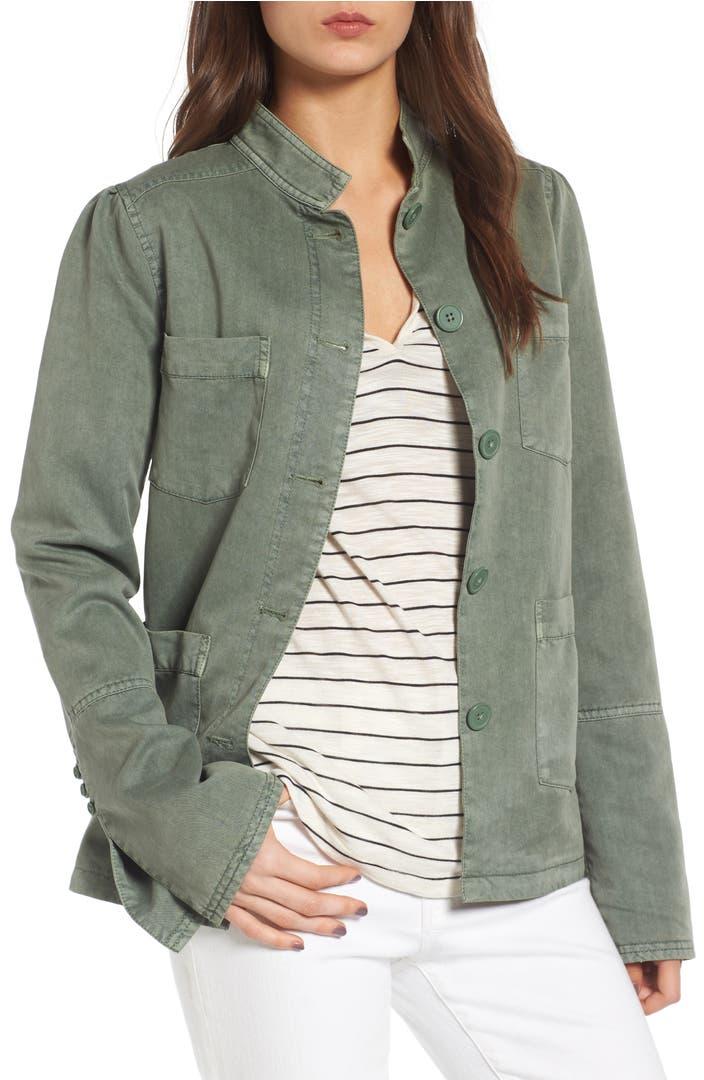 Utility Jacket Jackets And Nike: Hinge Peplum Utility Jacket