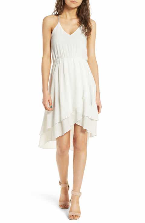 Everly Ruffle Hem Dress