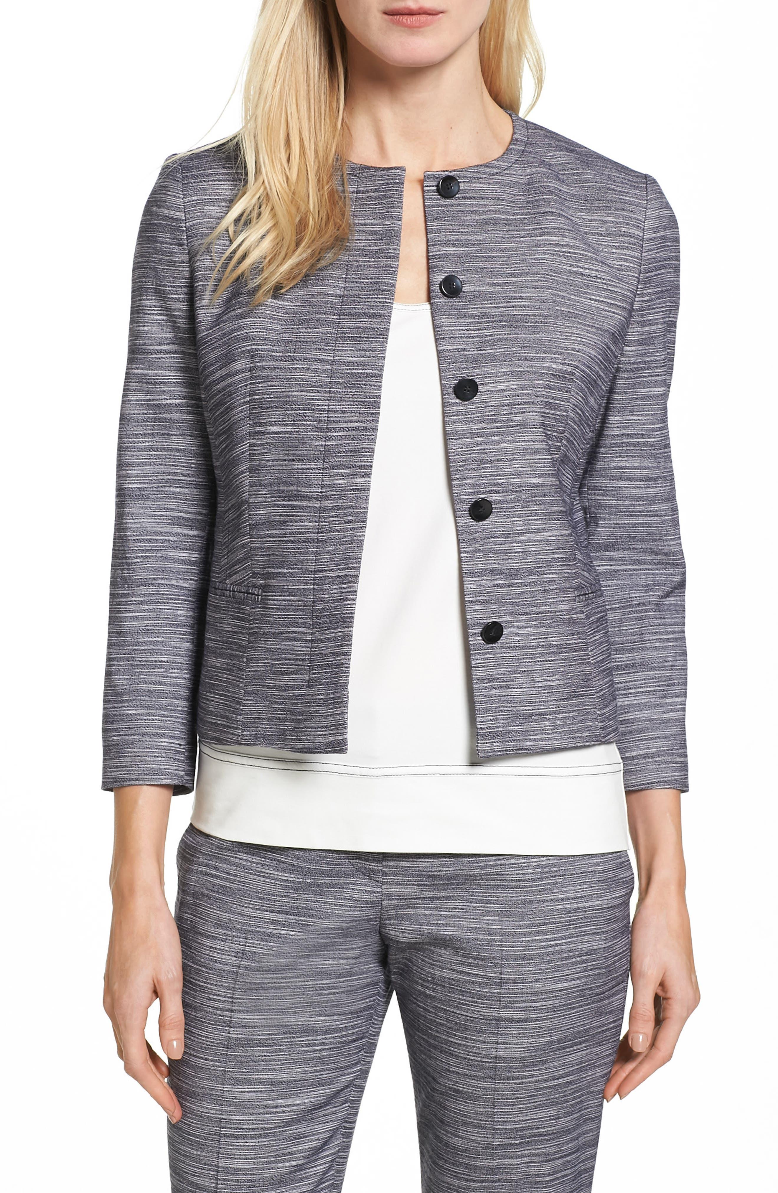 BOSS Jimesa Wool Blend Suit Jacket