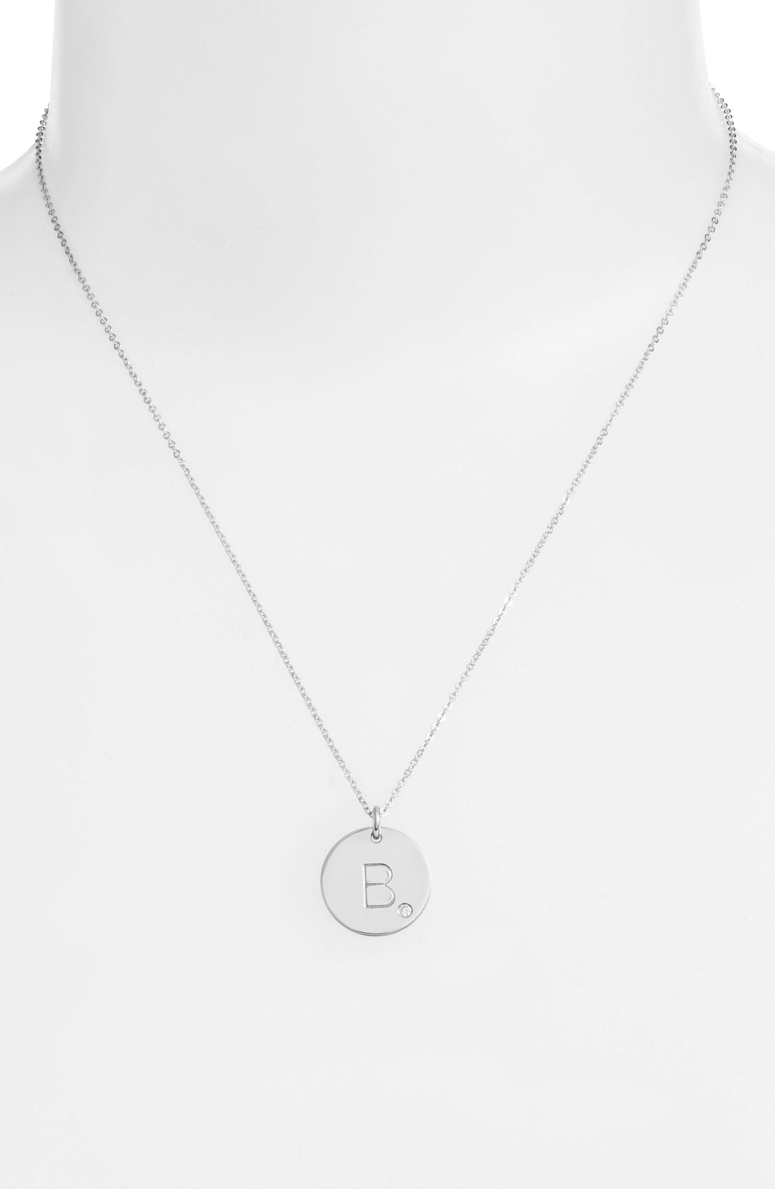 Alternate Image 2  - Nashelle Diamond Intial Pendant