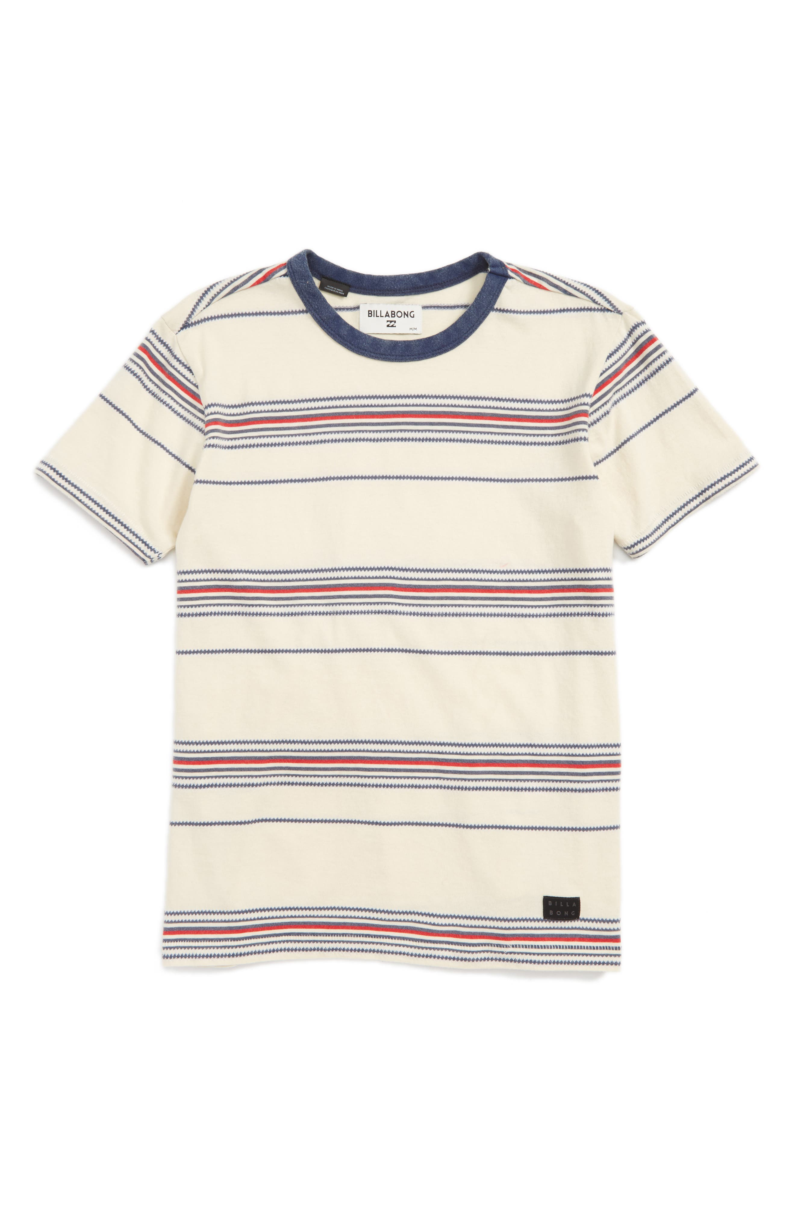 Billabong Banter Stripe T-Shirt (Toddler Boys, Little Boys & Big Boys)
