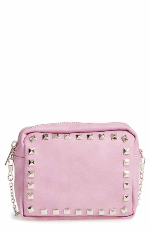 Capelli of New York Studded Crossbody Bag (Girls)