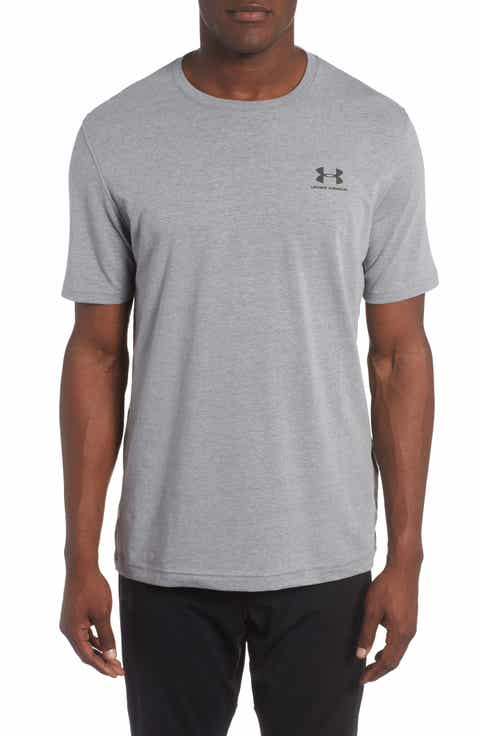 Under Armour 'Sportstyle' Charged Cotton® Loose Fit Logo T-Shirt