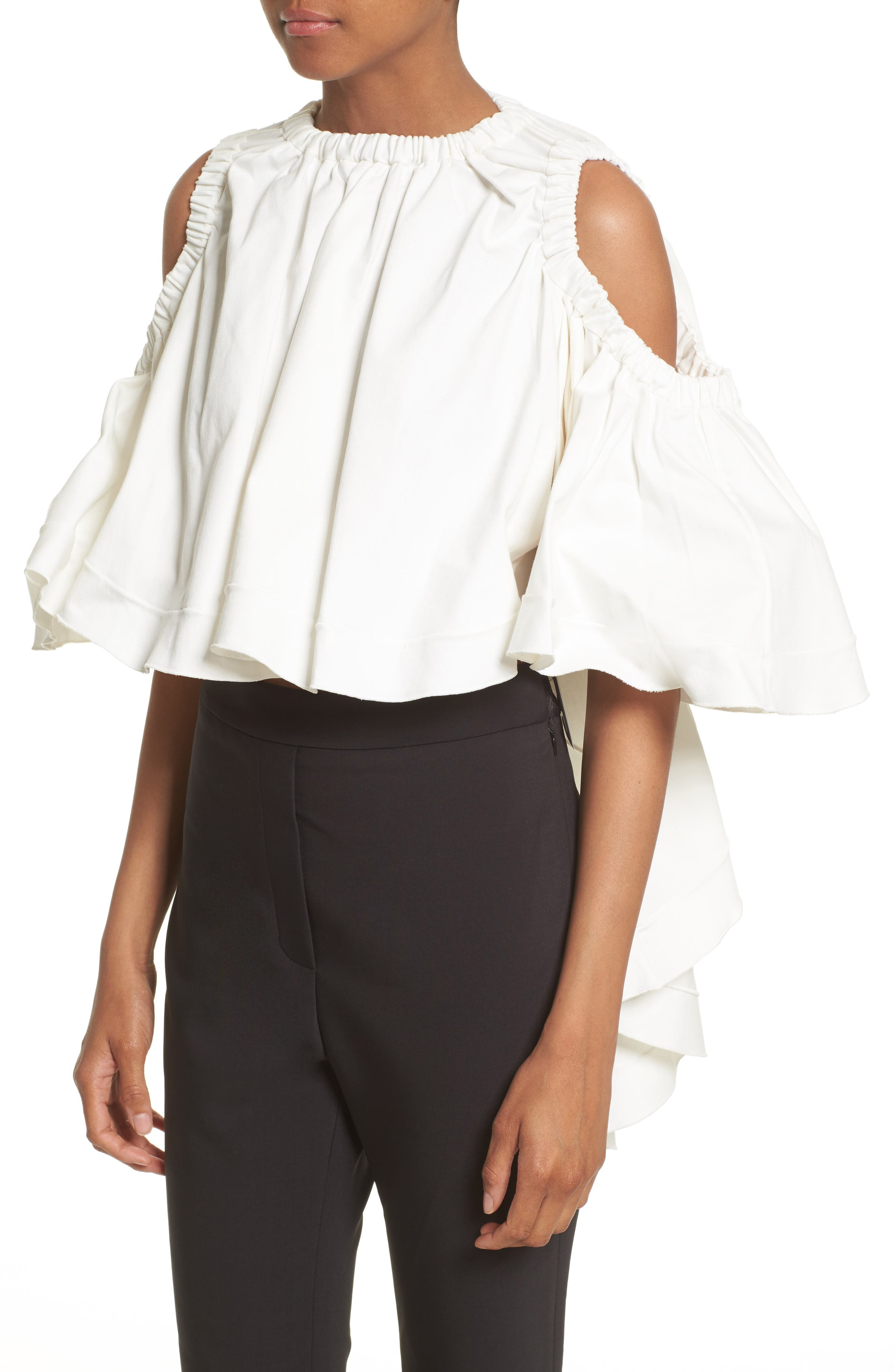 Alternate Image 6  - ELLERY Baby Cold Shoulder Top