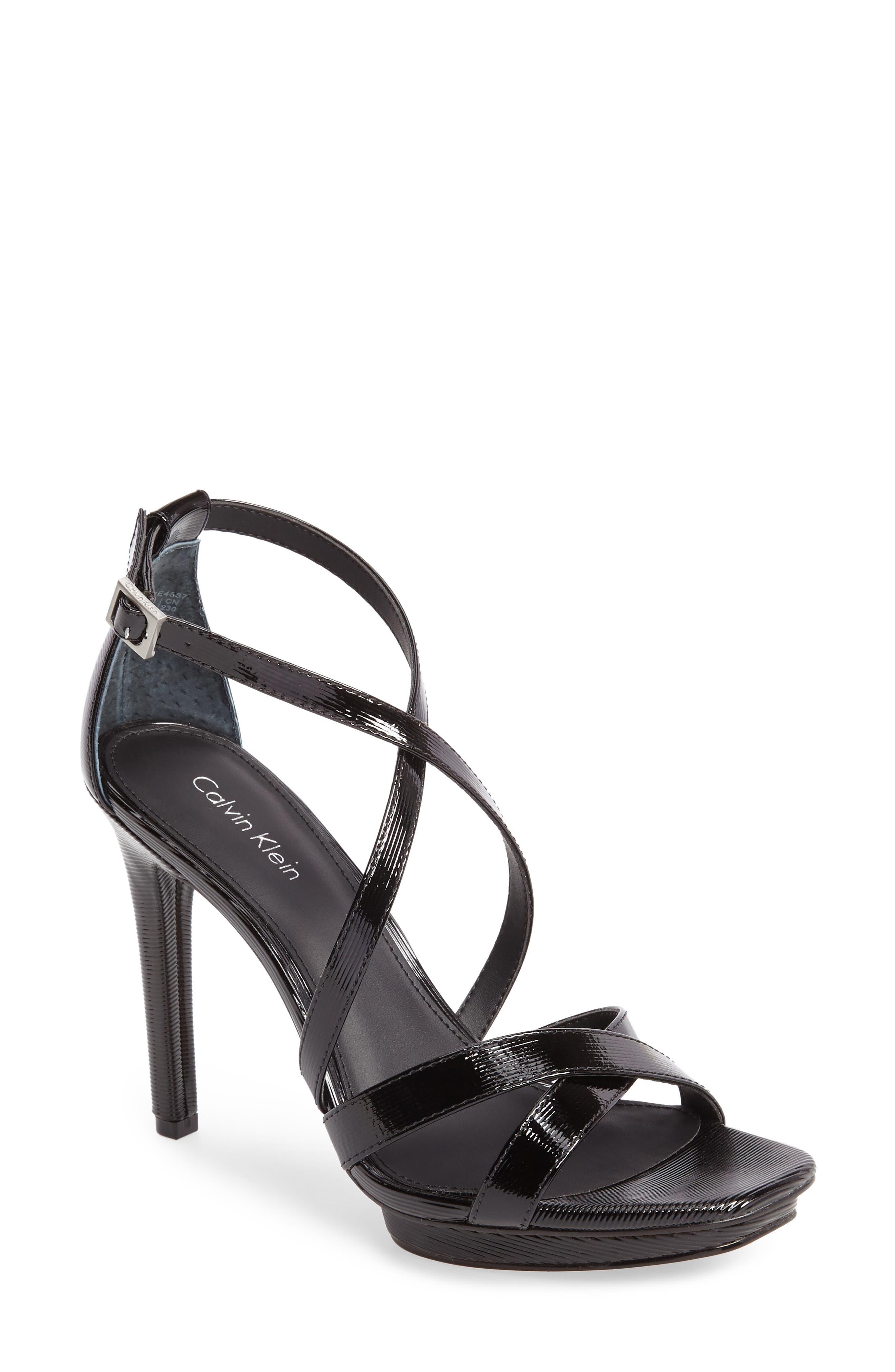 Calvin Klein Vonnie Platform Sandal (Women)