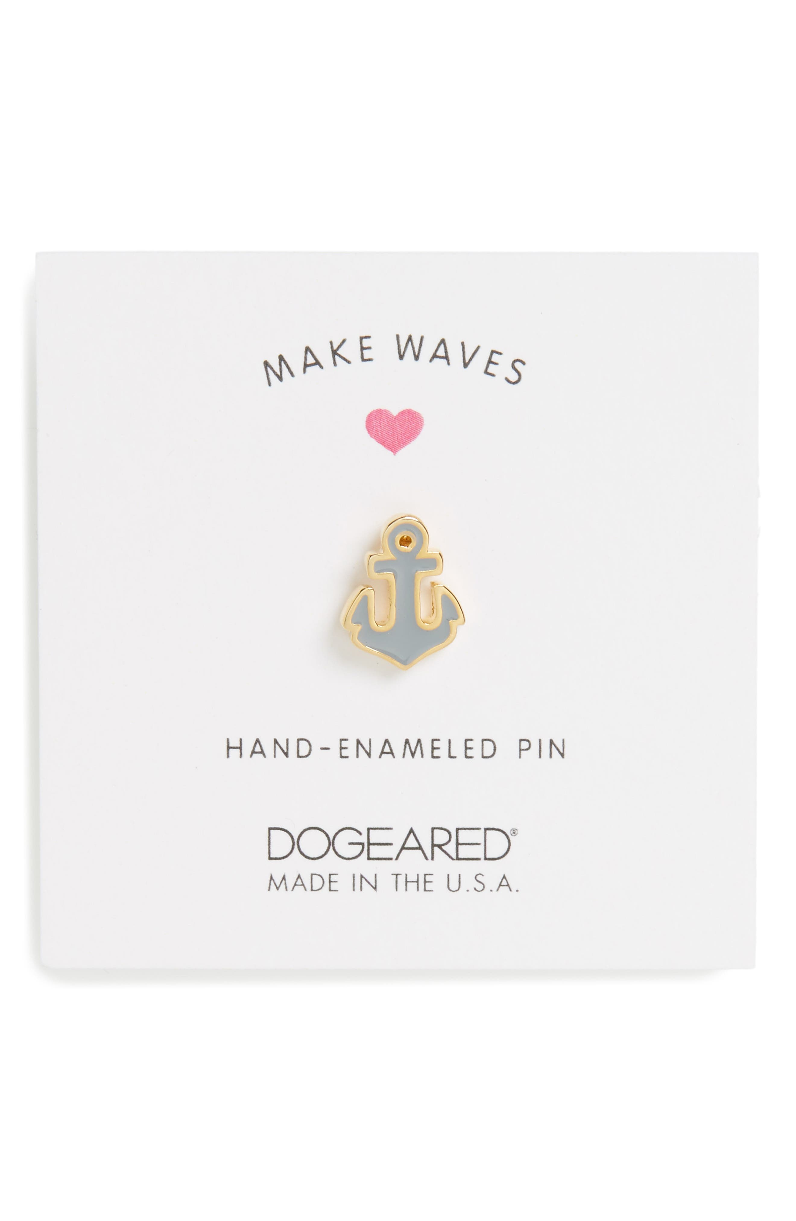 Dogeared Make Waves Pin