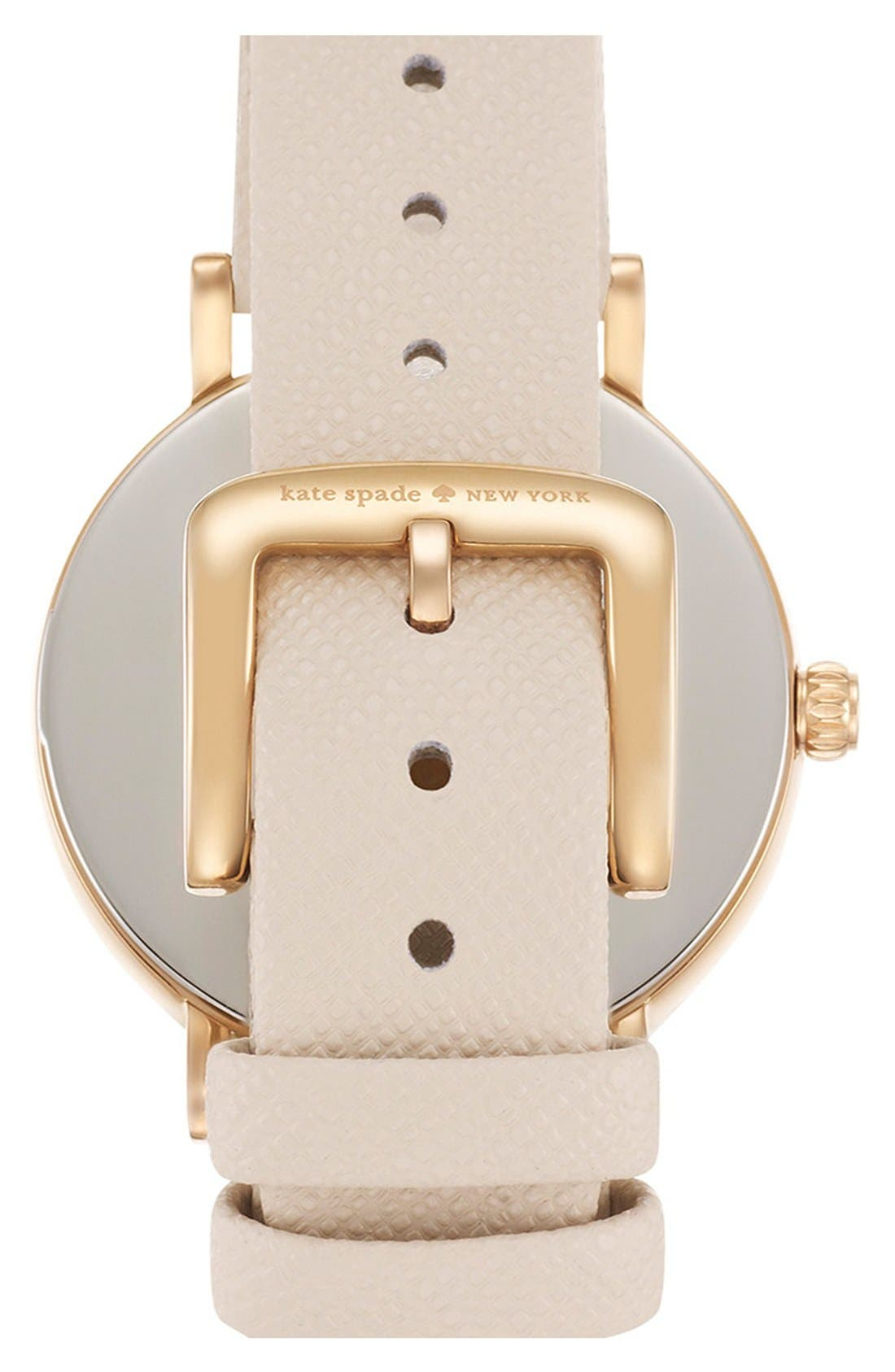 Alternate Image 2  - kate spade new york 'metro' boxed dot dial watch & straps set, 34mm (Nordstrom Exclusive)