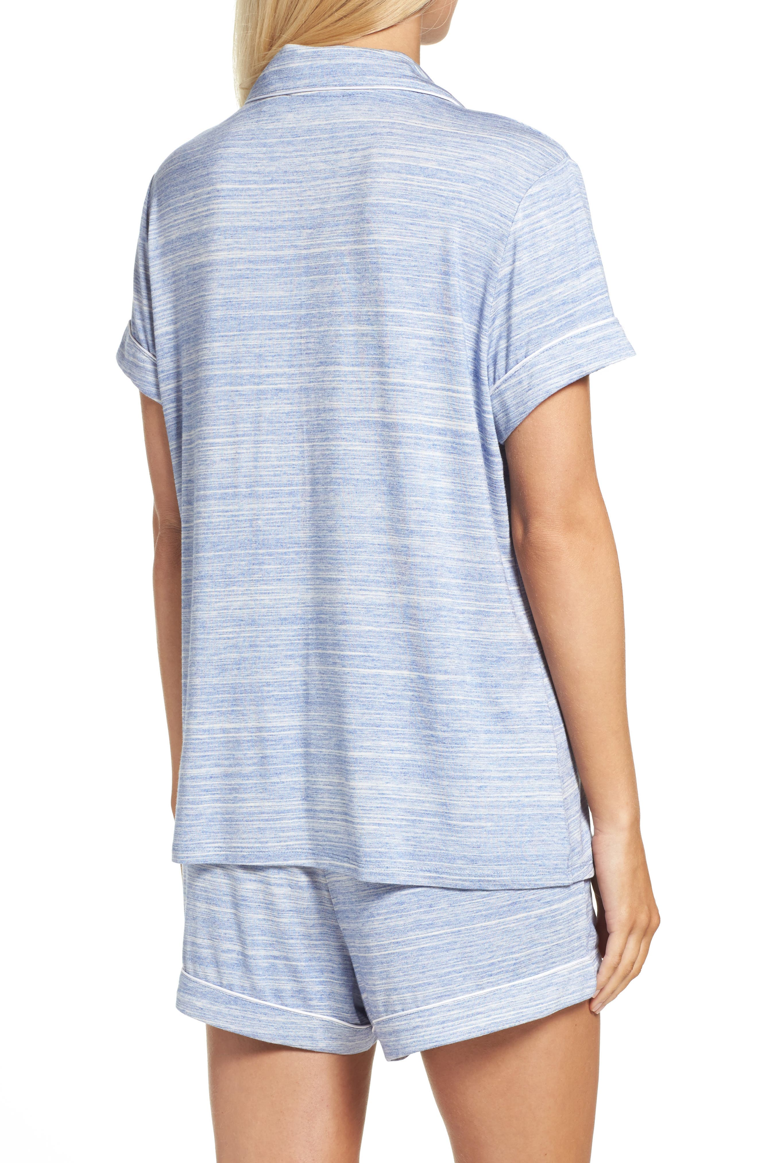 Alternate Image 2  - Nordstrom Lingerie 'Moonlight' Short Pajamas