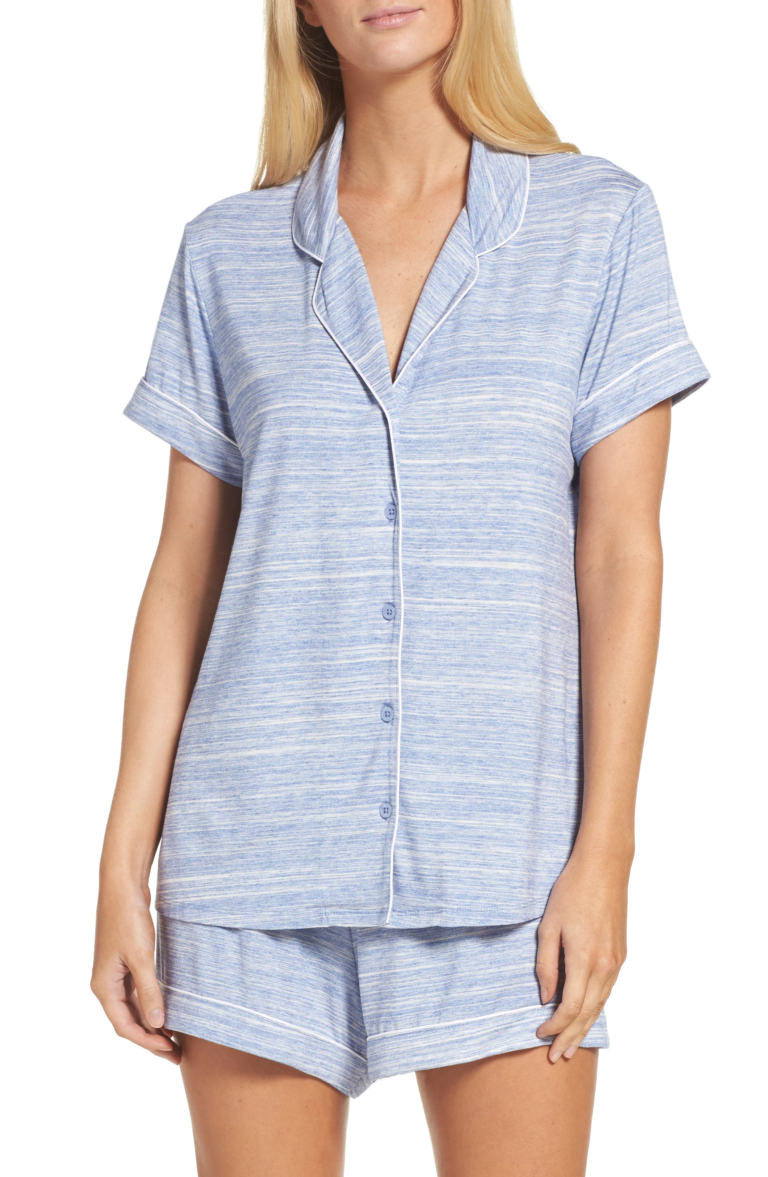 Alternate Image 1 Selected - Nordstrom Lingerie 'Moonlight' Short Pajamas